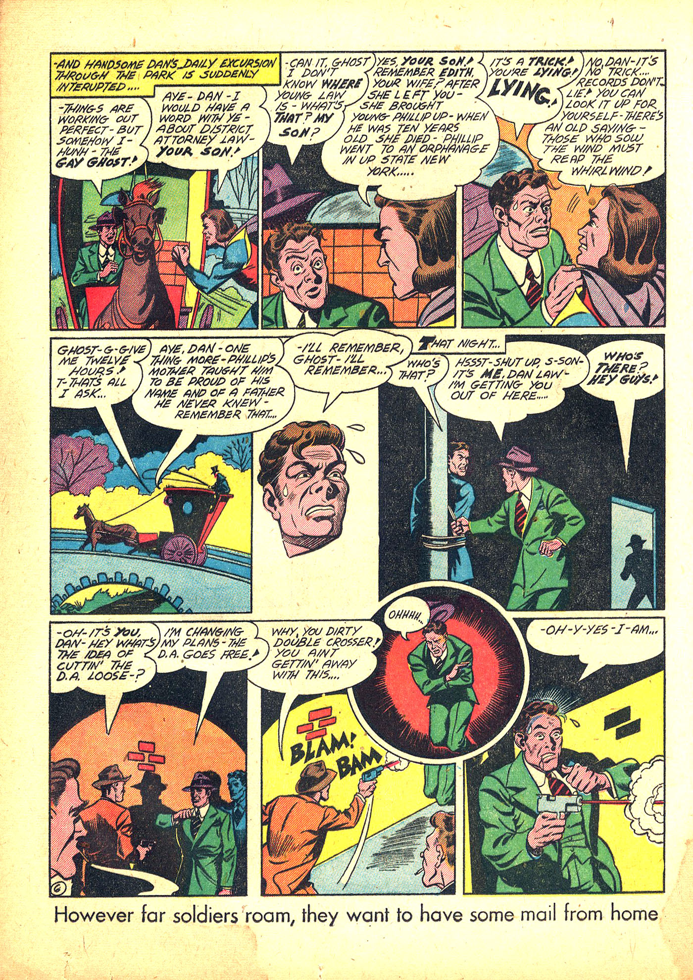 Read online Sensation (Mystery) Comics comic -  Issue #31 - 22