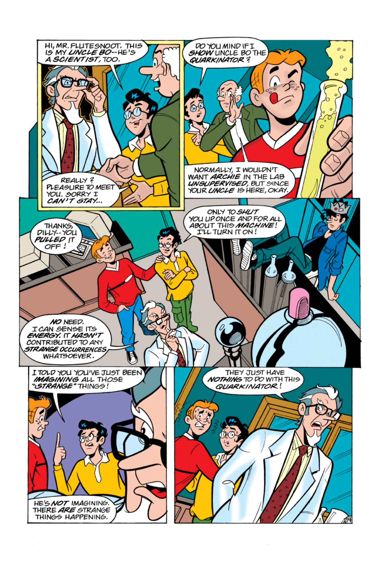 Read online Archie's Weird Mysteries comic -  Issue #2 - 14