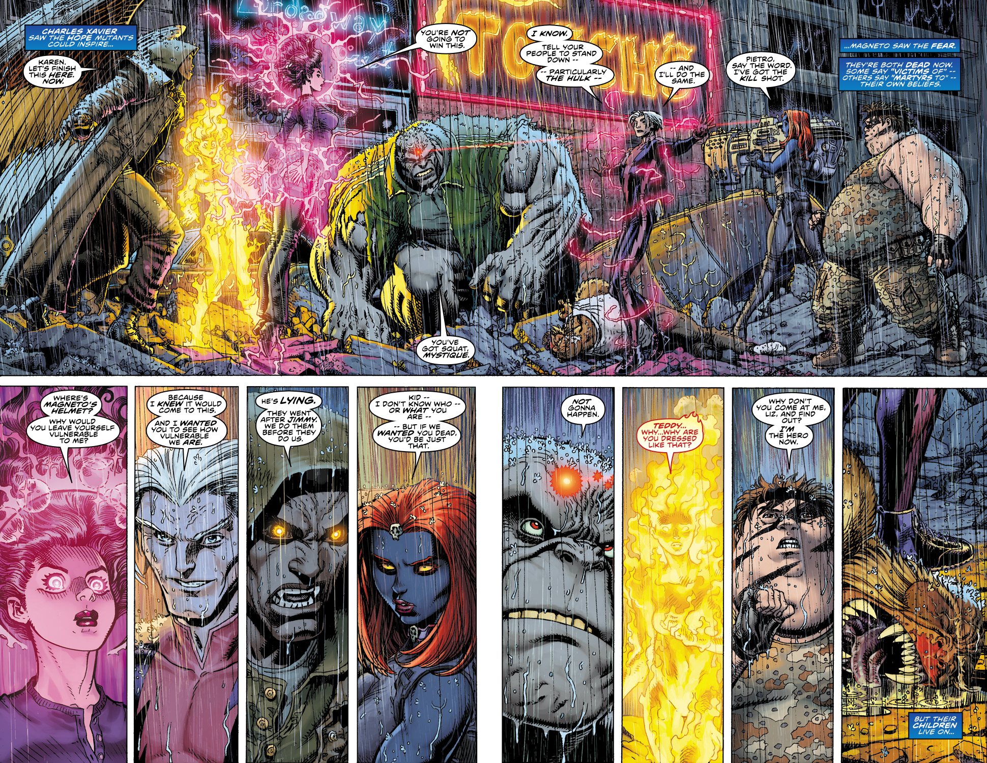 Read online Ultimate X comic -  Issue #5 - 15