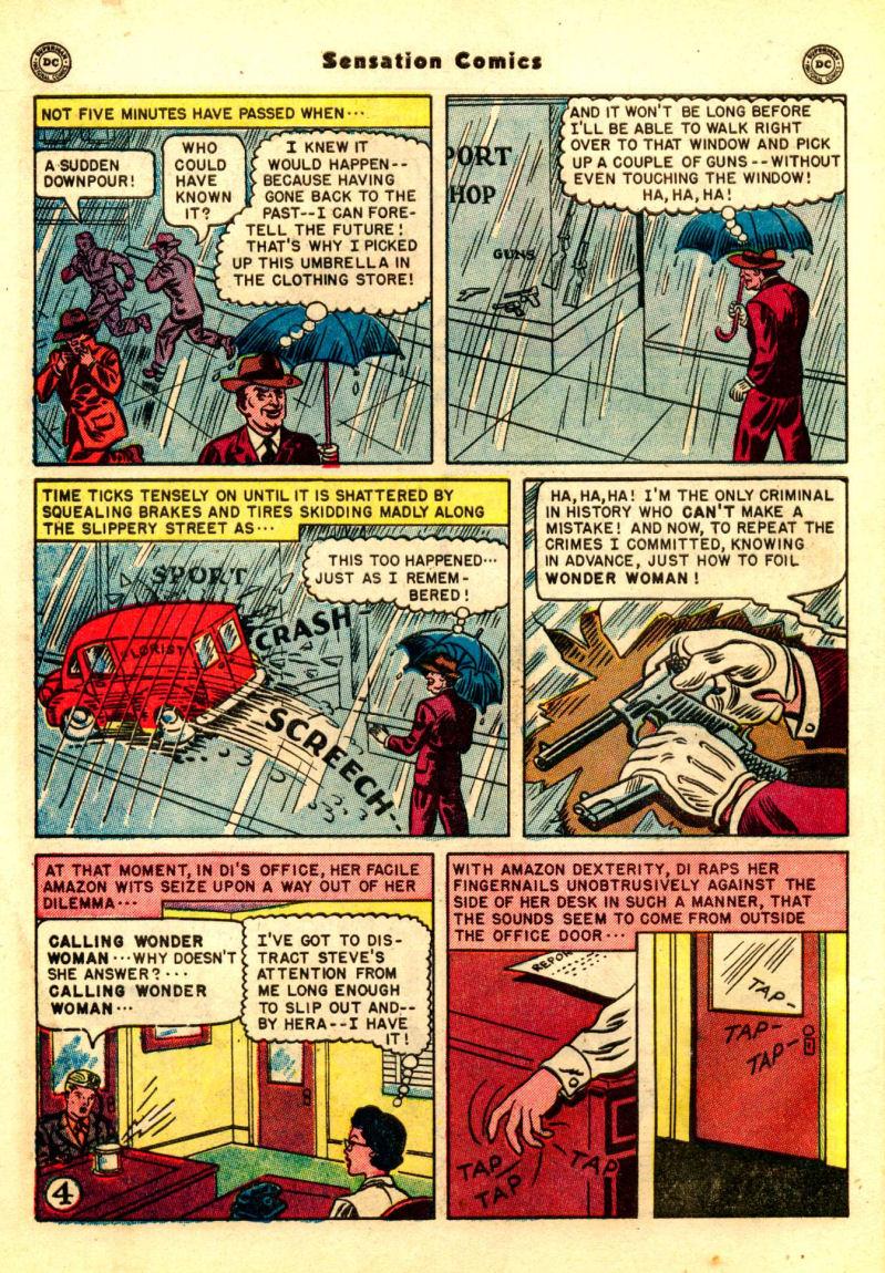 Read online Sensation (Mystery) Comics comic -  Issue #99 - 6