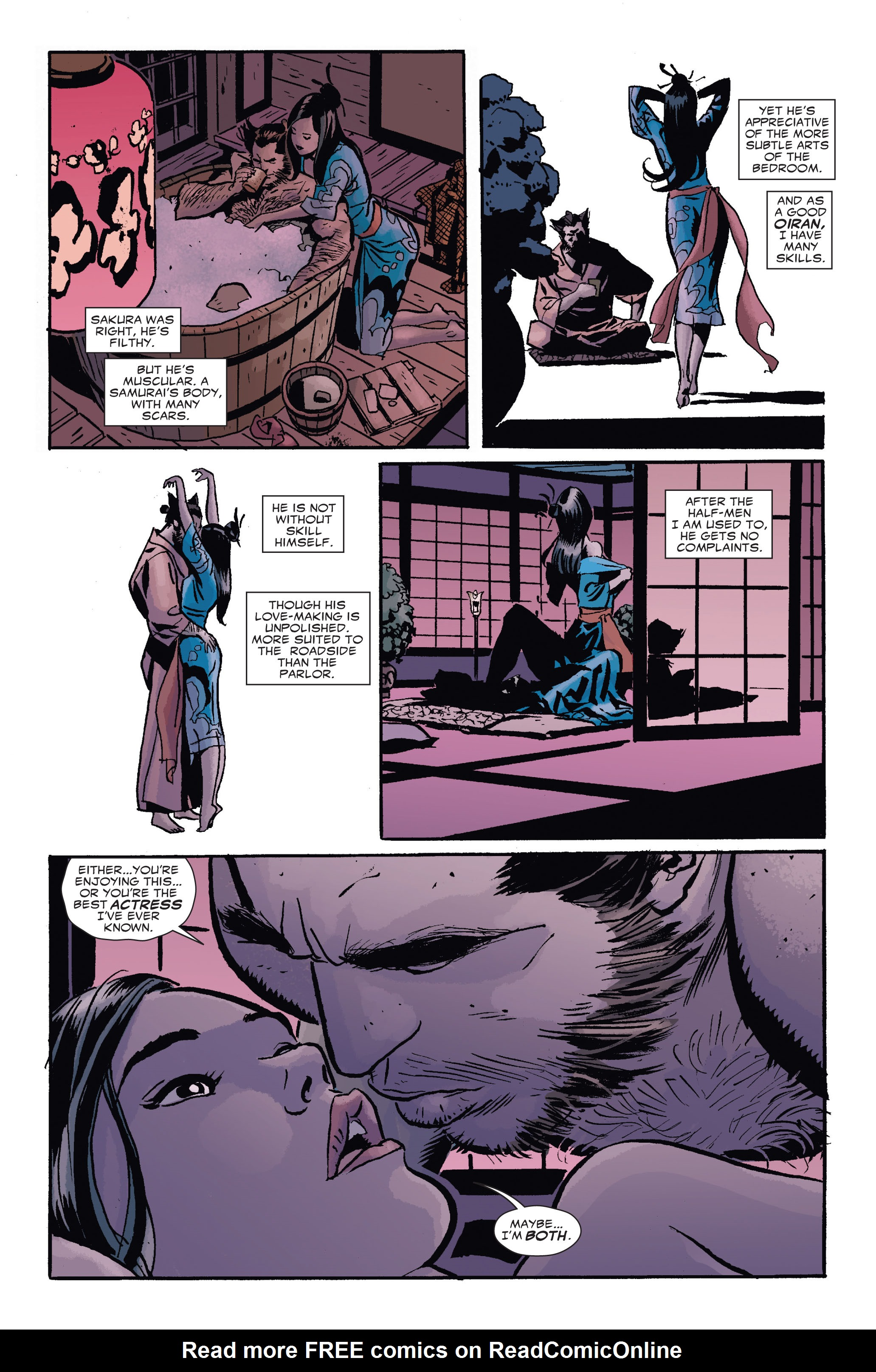 Read online 5 Ronin (2011) comic -  Issue #4 - 12