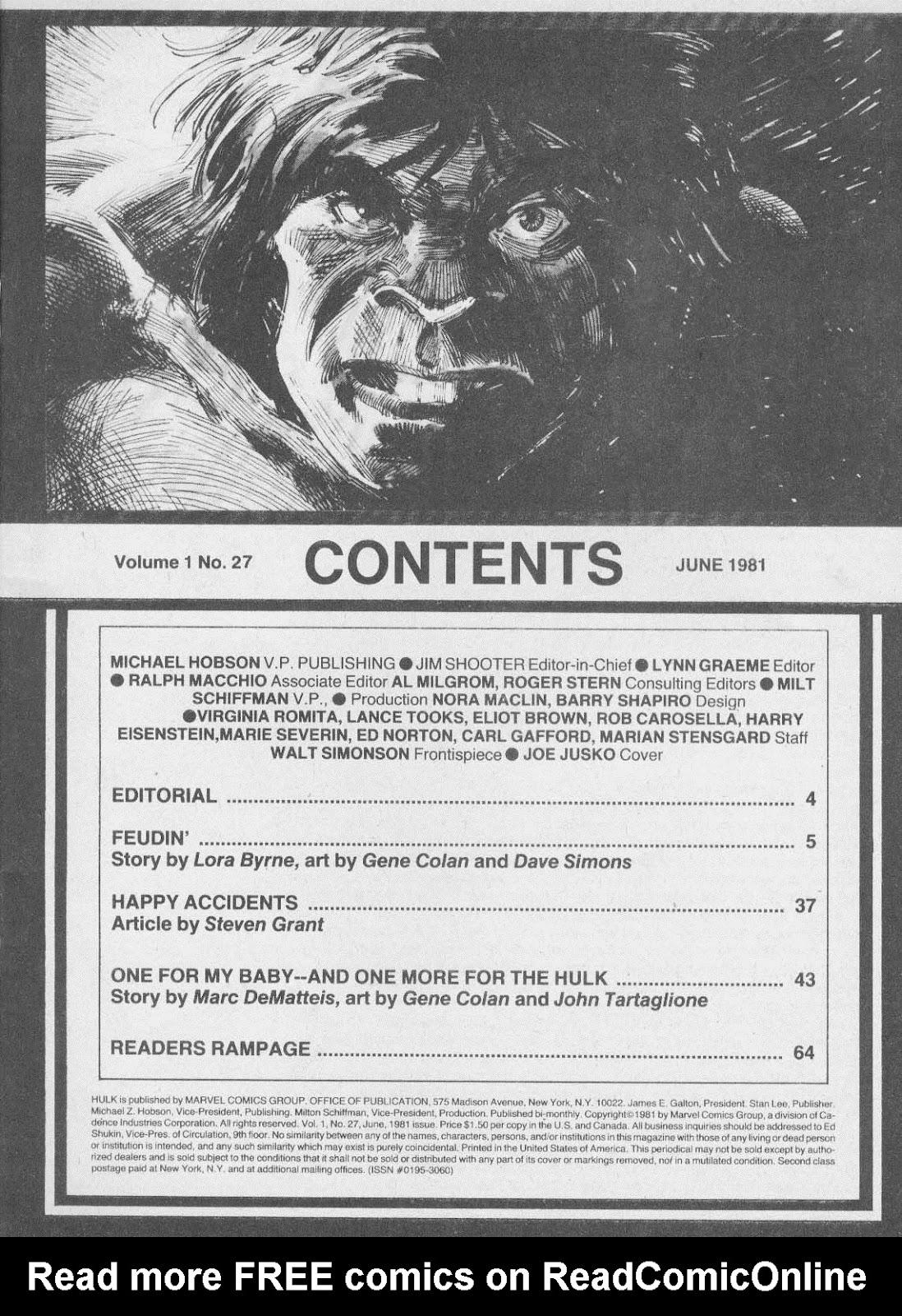 Hulk (1978) issue 27 - Page 3