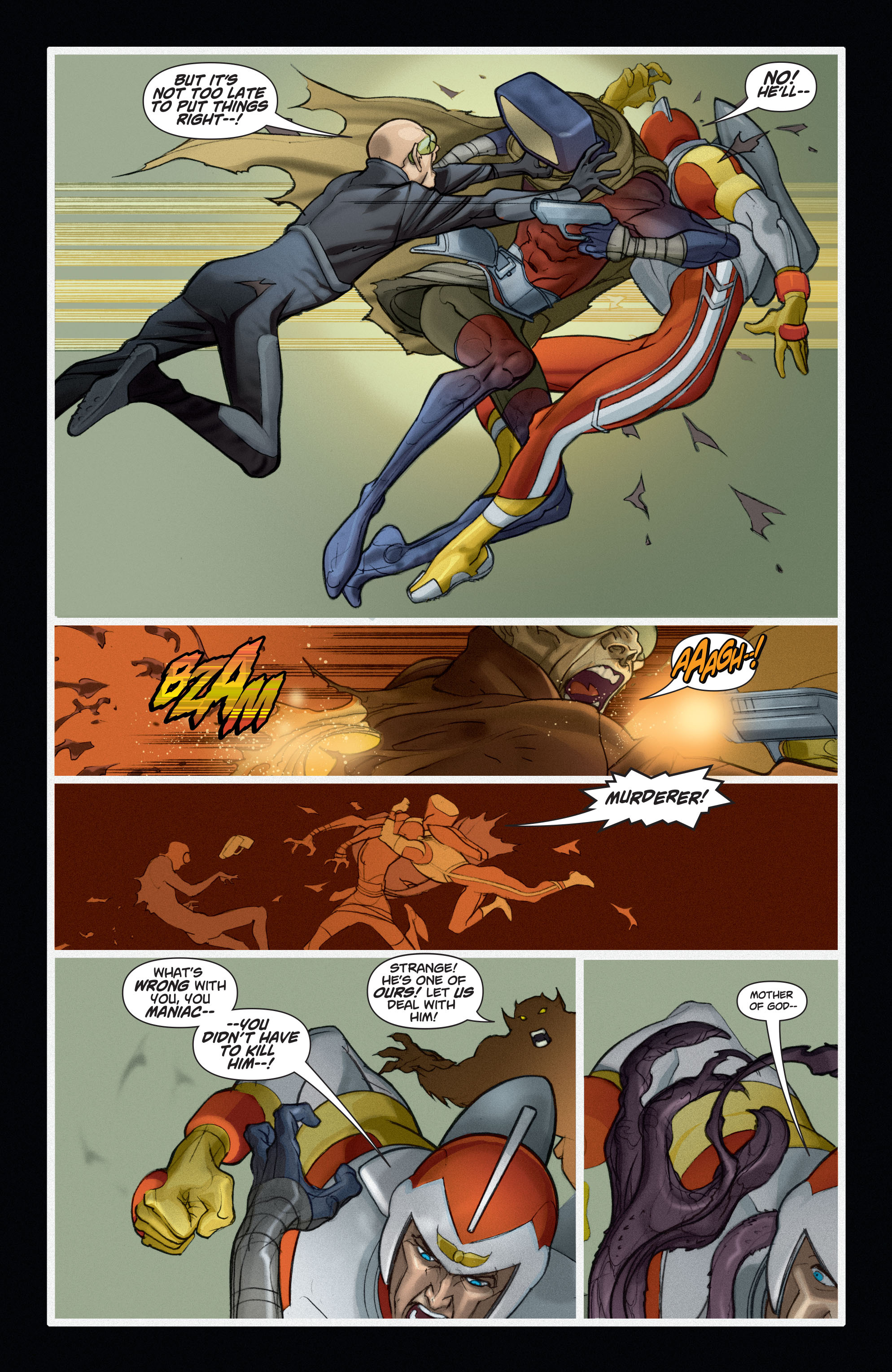 Read online Adam Strange (2004) comic -  Issue #6 - 6