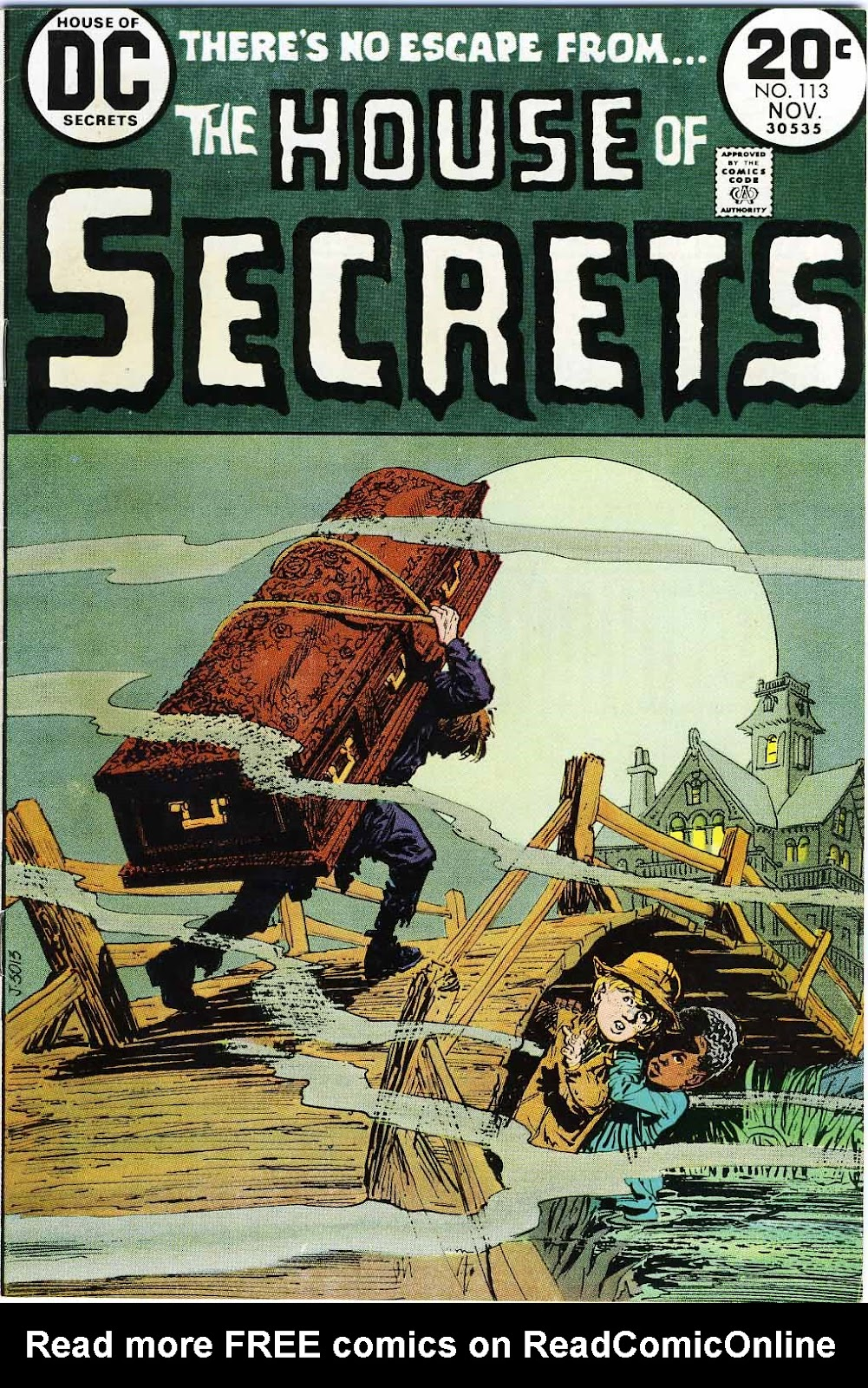 House of Secrets (1956) issue 113 - Page 1