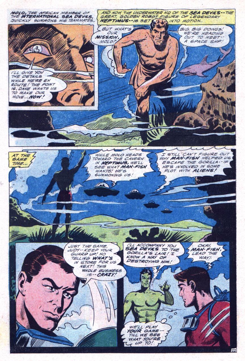 Read online Sea Devils comic -  Issue #30 - 31
