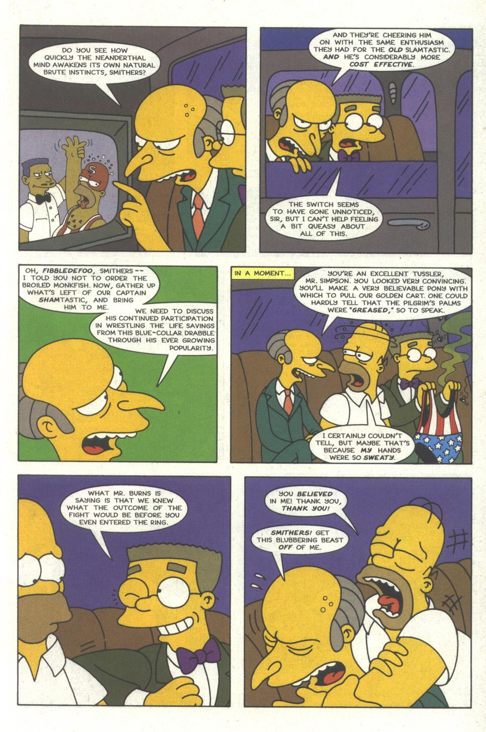 Read online Simpsons Comics comic -  Issue #29 - 14