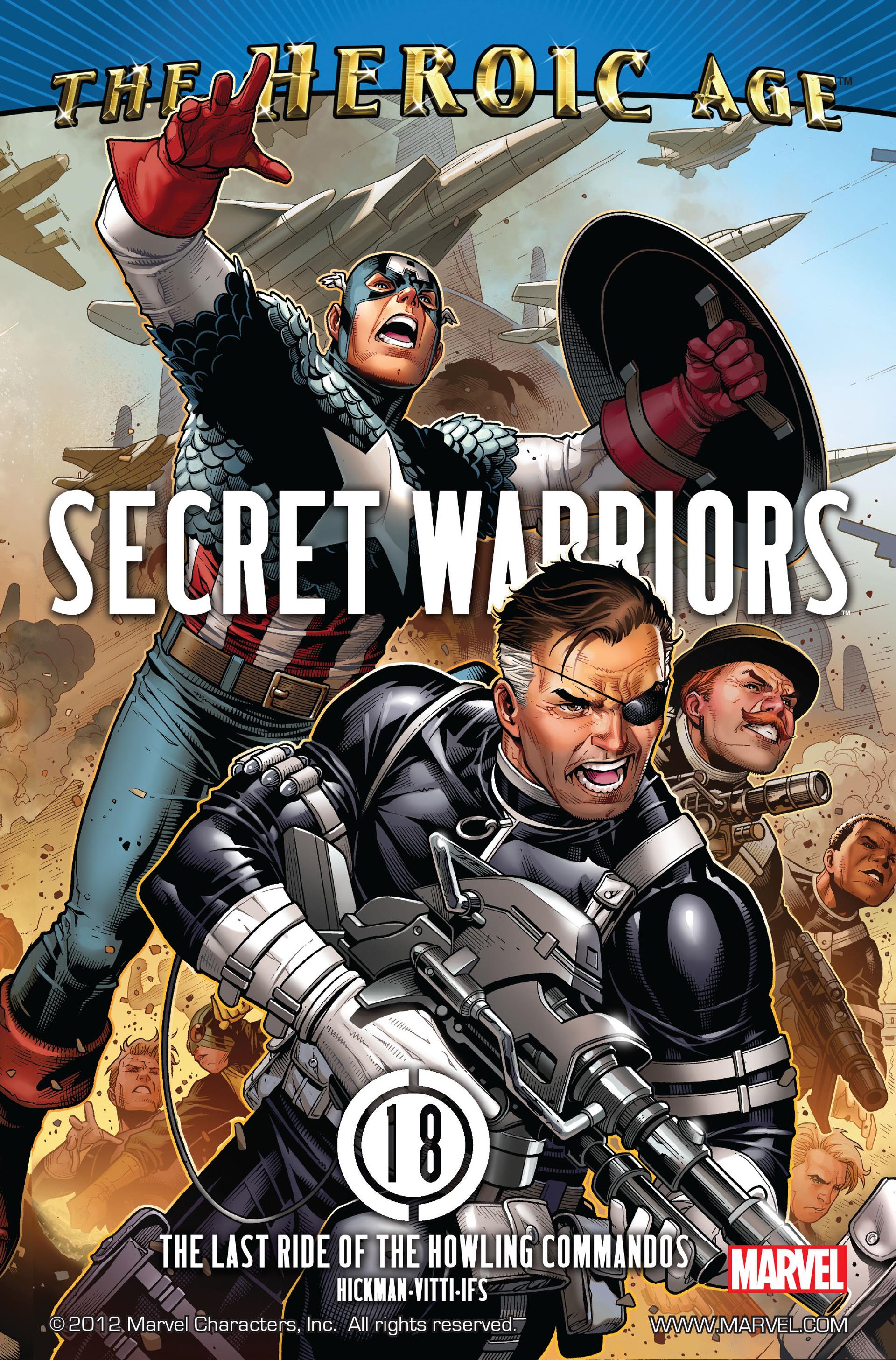 Read online Secret Warriors comic -  Issue #18 - 2