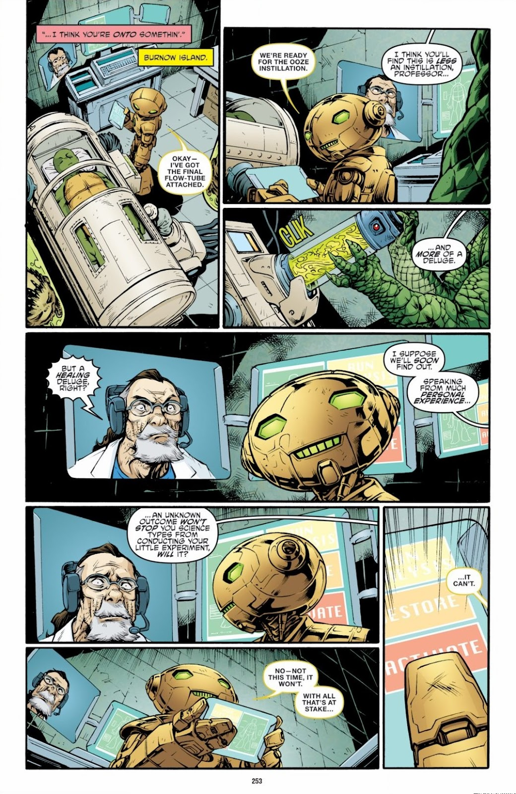Read online Teenage Mutant Ninja Turtles: The IDW Collection comic -  Issue # TPB 6 (Part 3) - 46