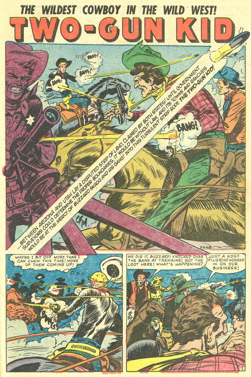 Read online Two-Gun Kid comic -  Issue #21 - 27