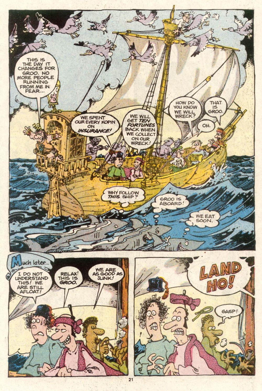 Read online Sergio Aragonés Groo the Wanderer comic -  Issue #48 - 22