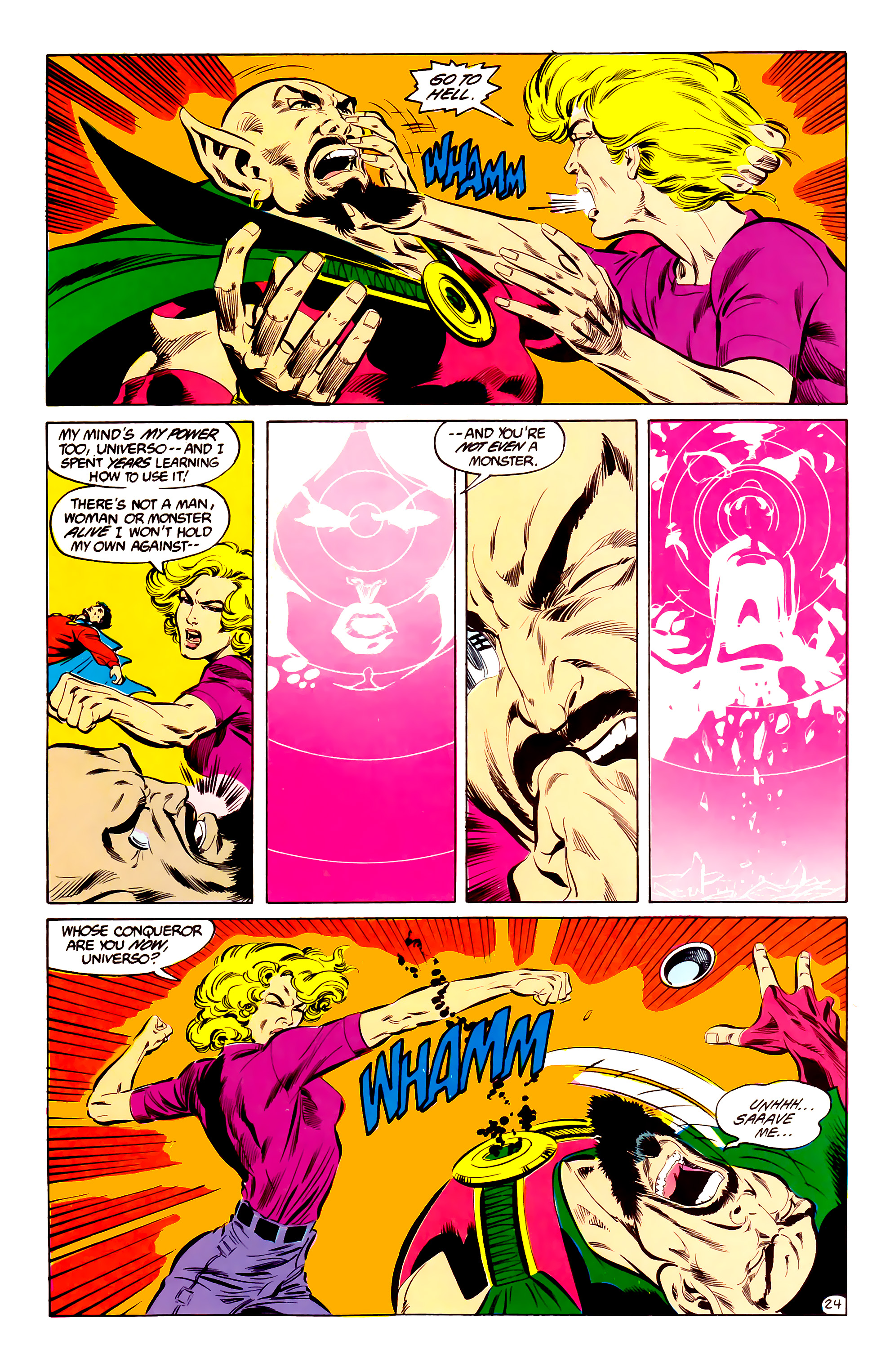 Legion of Super-Heroes (1984) 35 Page 23
