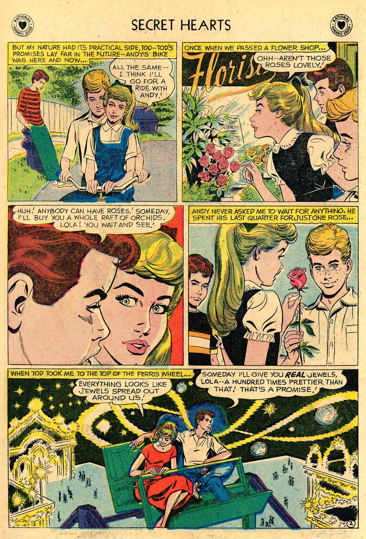 Read online Secret Hearts comic -  Issue #60 - 11
