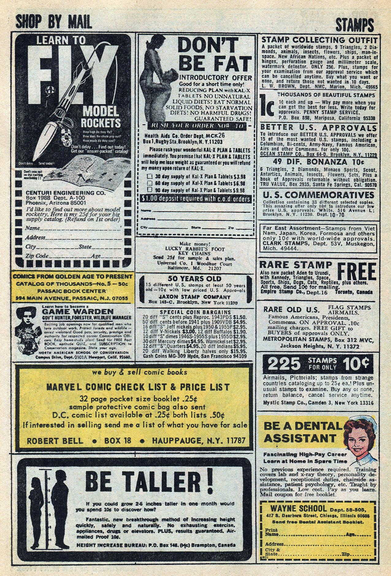 Read online Amazing Adventures (1970) comic -  Issue #3 - 26