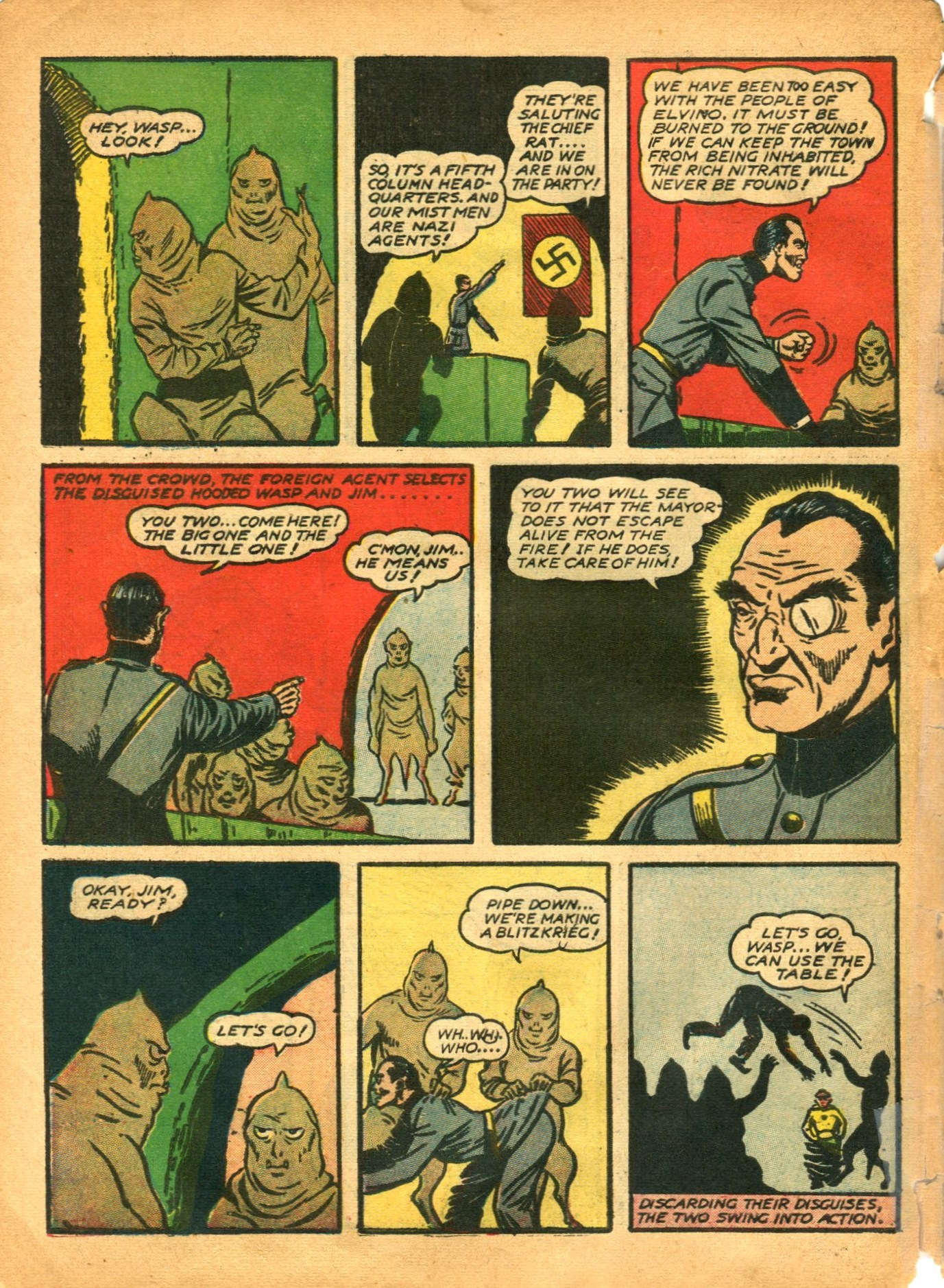Read online Shadow Comics comic -  Issue #12 - 58
