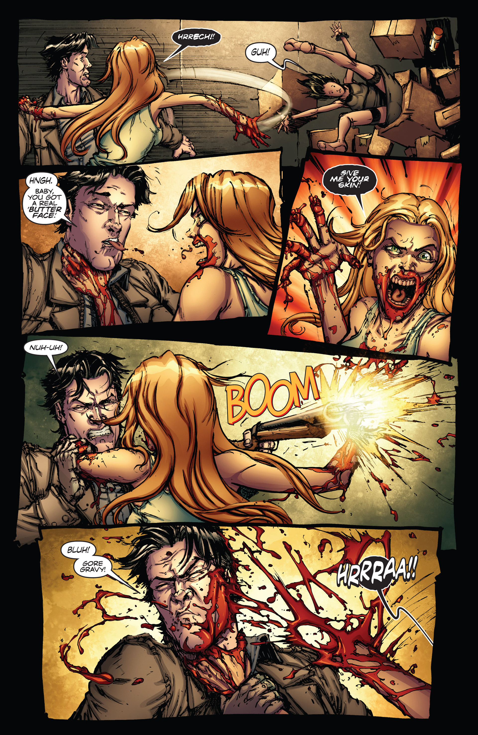 Read online Army of Darkness vs. Hack/Slash comic -  Issue #1 - 21