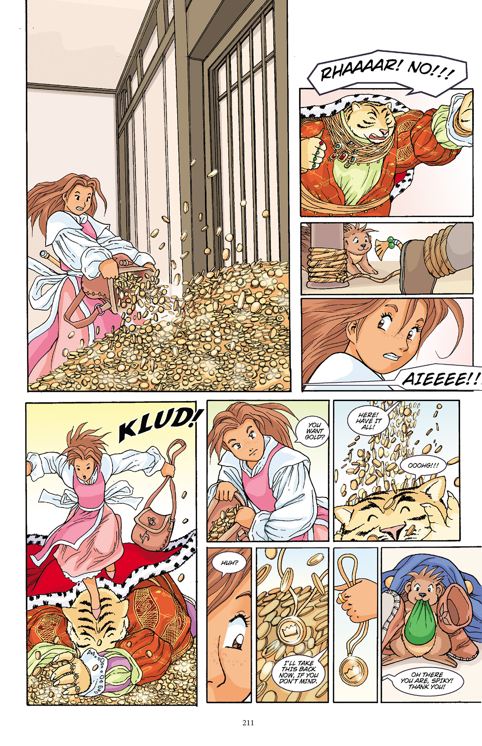 Read online Courageous Princess comic -  Issue # TPB 1 - 208