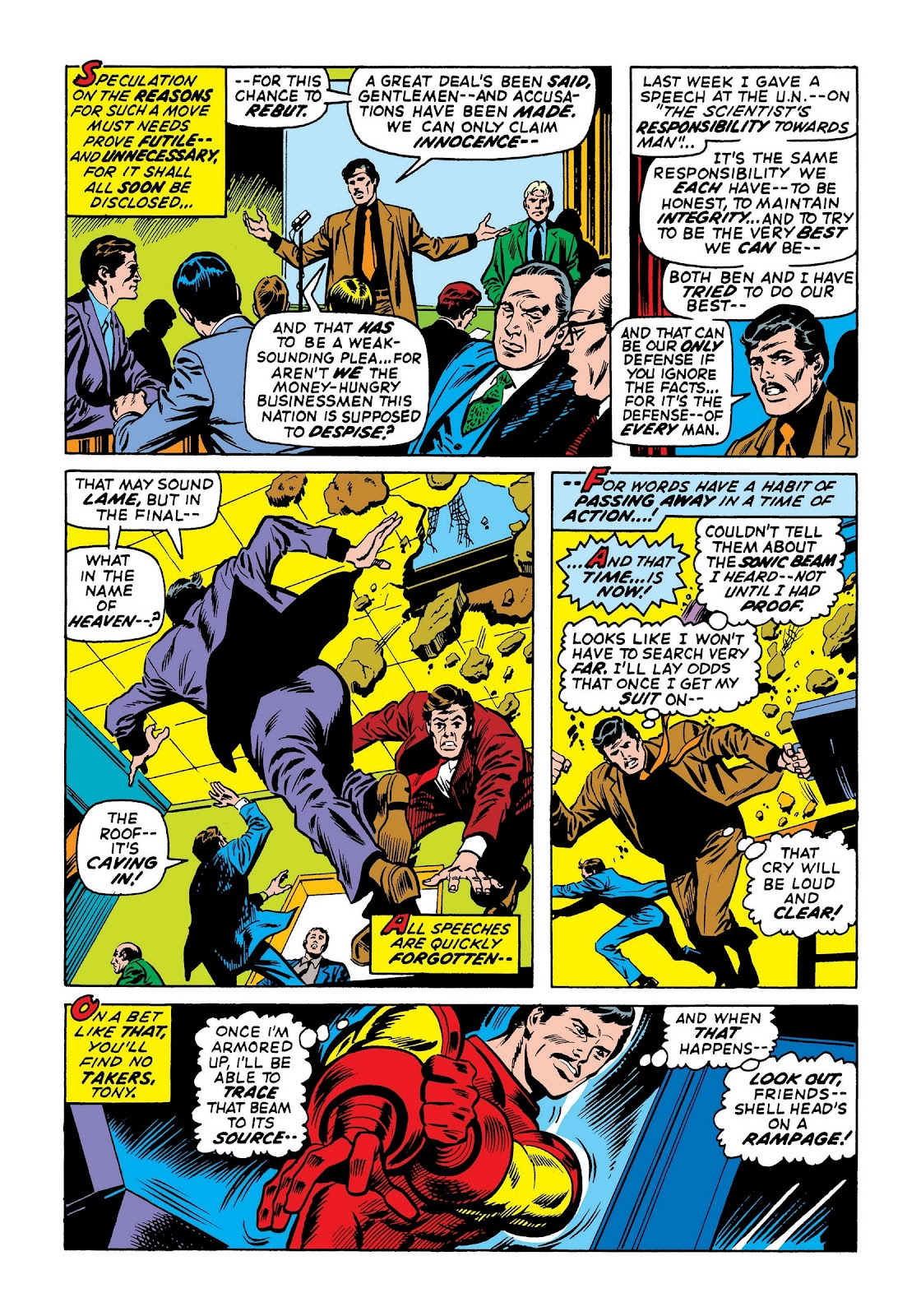 Read online Marvel Masterworks: The Invincible Iron Man comic -  Issue # TPB 8 (Part 1) - 60