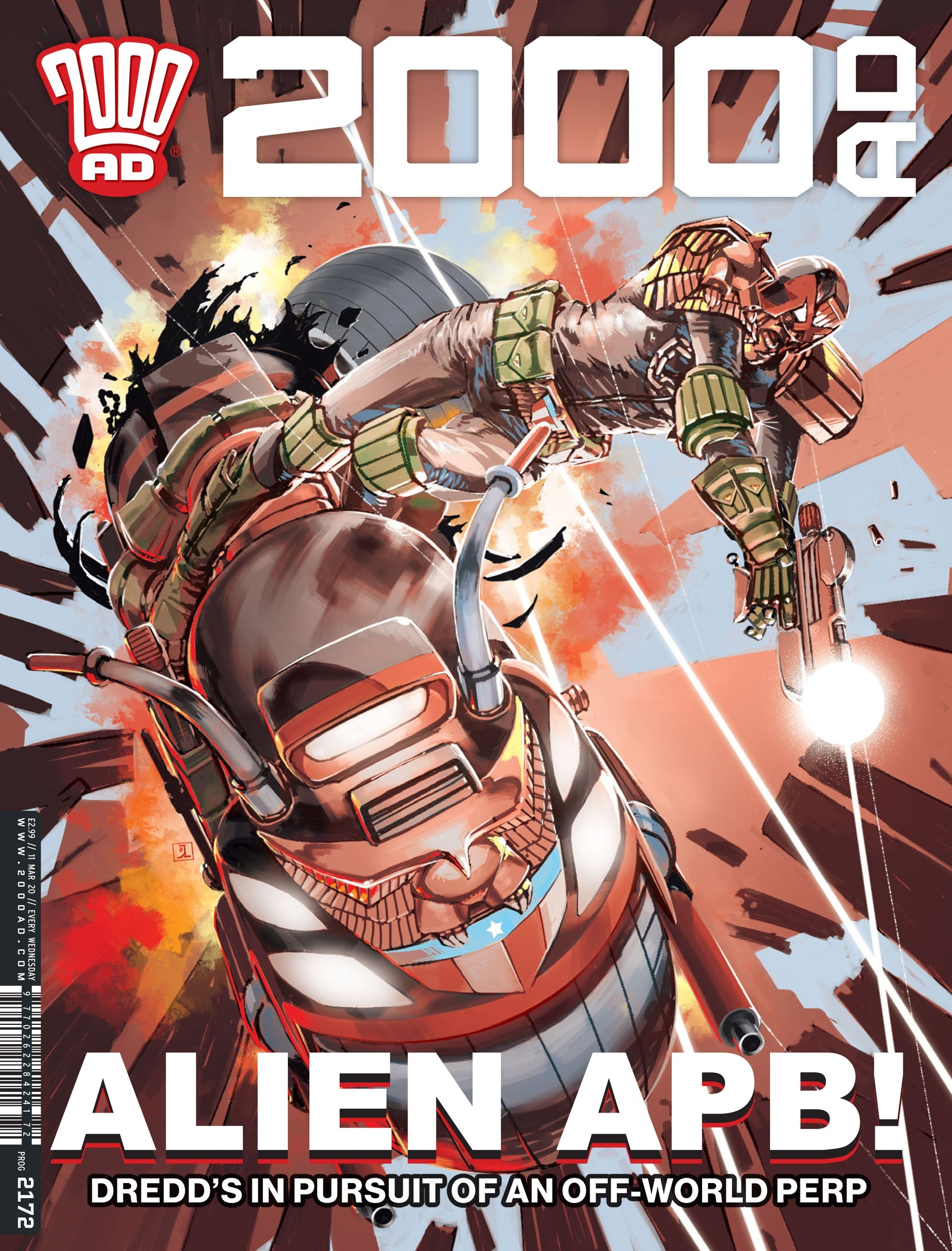 2000 AD 2172 Page 1