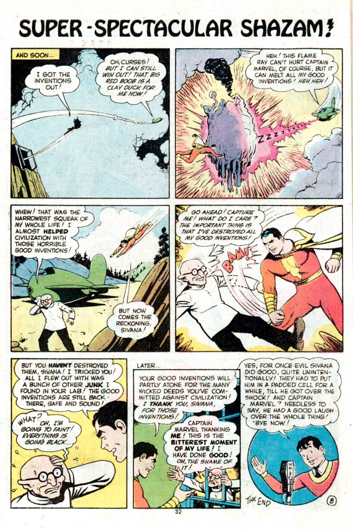 Read online Shazam! (1973) comic -  Issue #15 - 32
