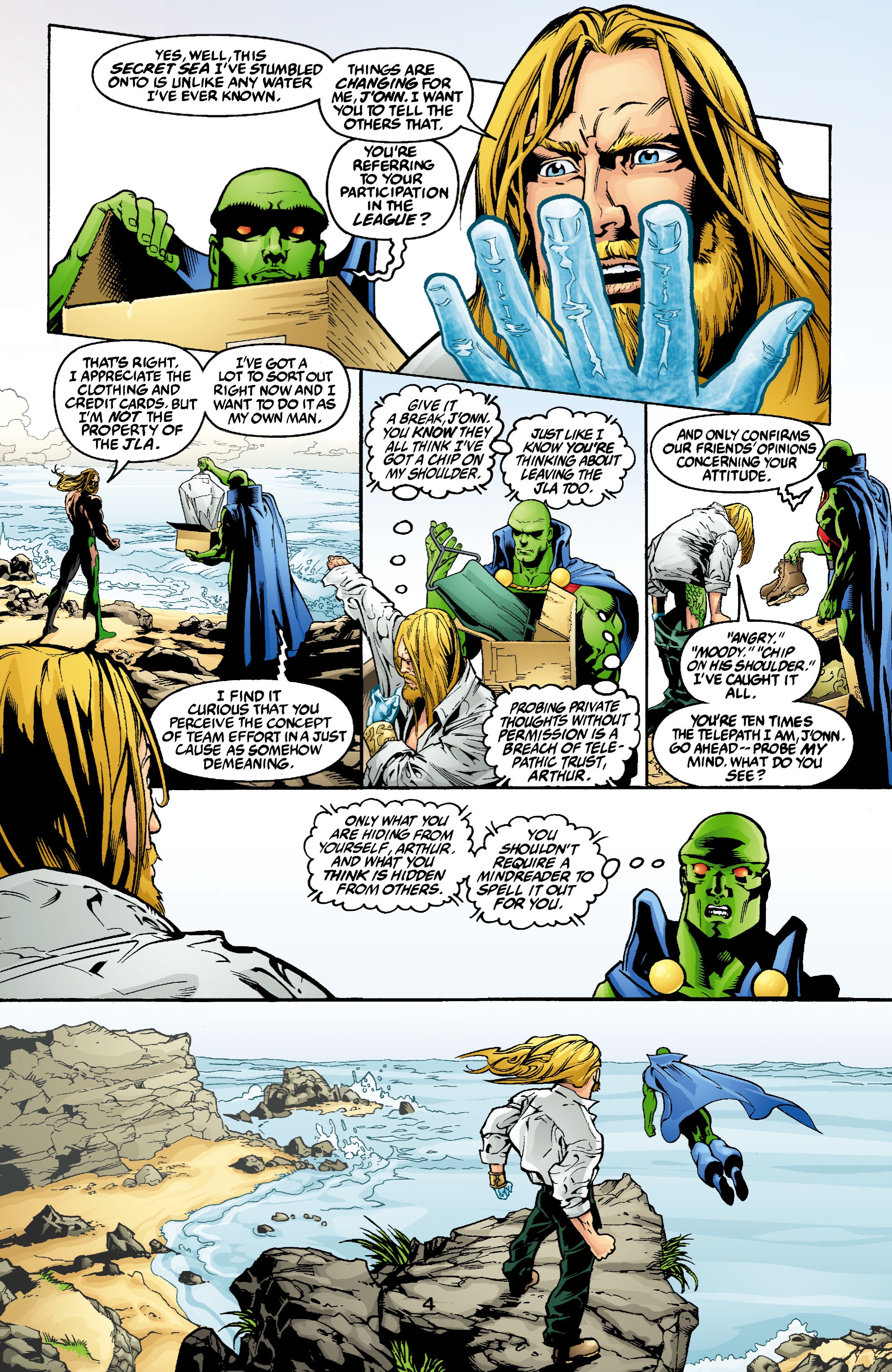 Read online Aquaman (2003) comic -  Issue #2 - 5