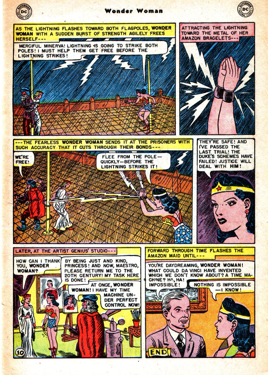 Read online Wonder Woman (1942) comic -  Issue #57 - 40