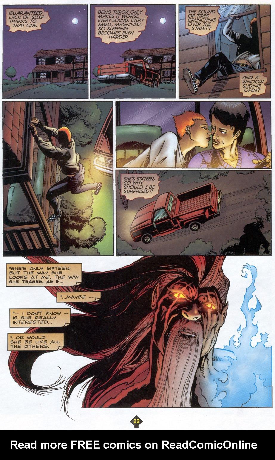 Read online Turok: Redpath comic -  Issue # Full - 21