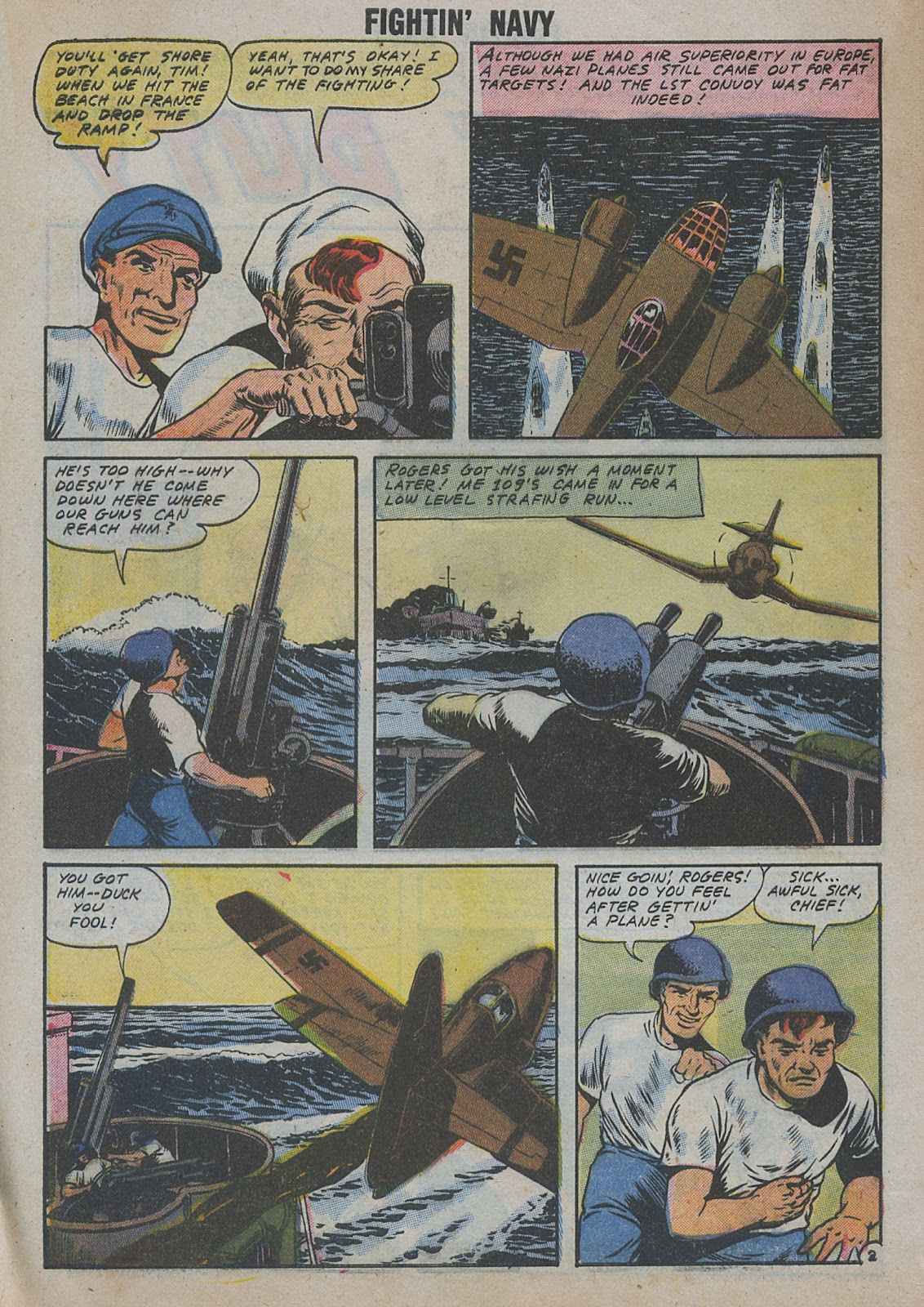 Read online Fightin' Navy comic -  Issue #82 - 12