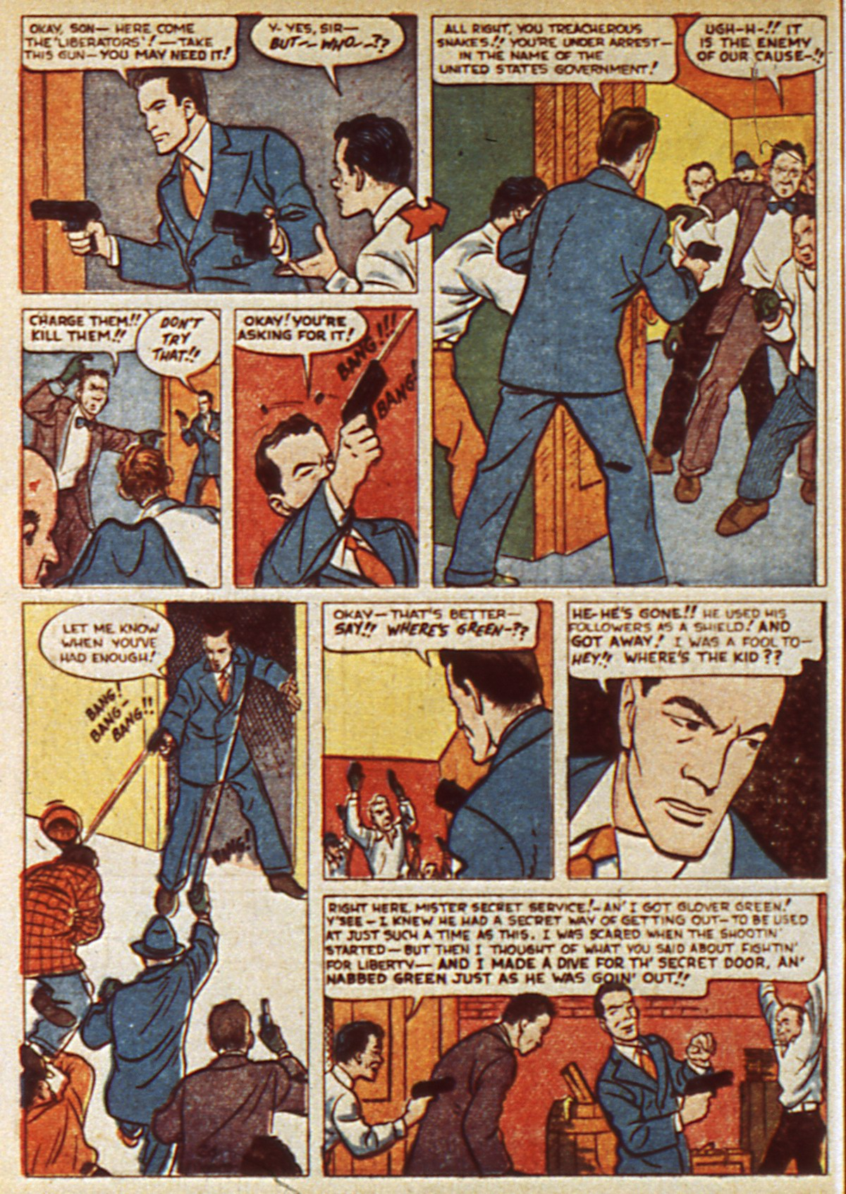 Read online Detective Comics (1937) comic -  Issue #45 - 22