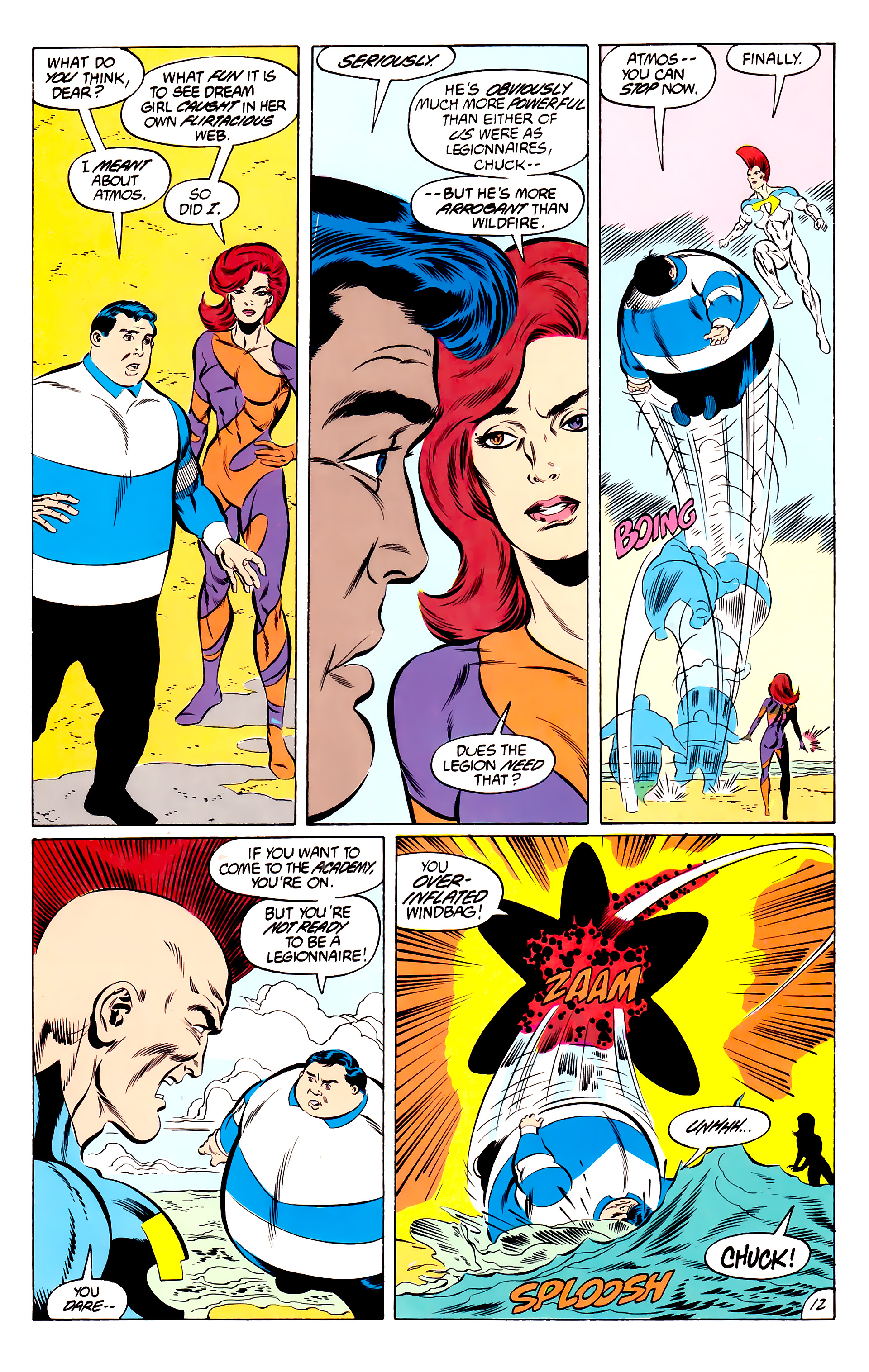Legion of Super-Heroes (1984) 46 Page 12