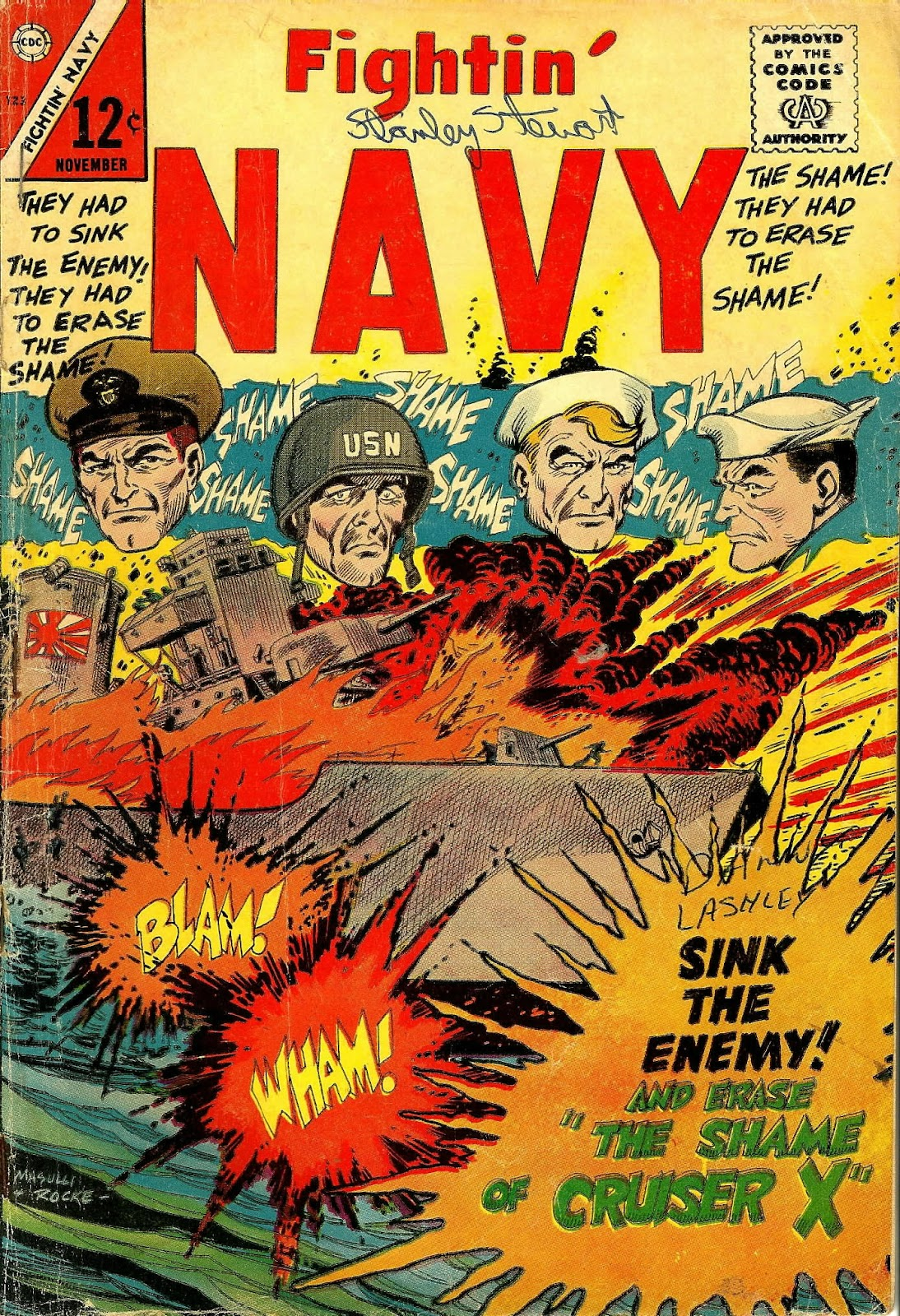 Read online Fightin' Navy comic -  Issue #123 - 1