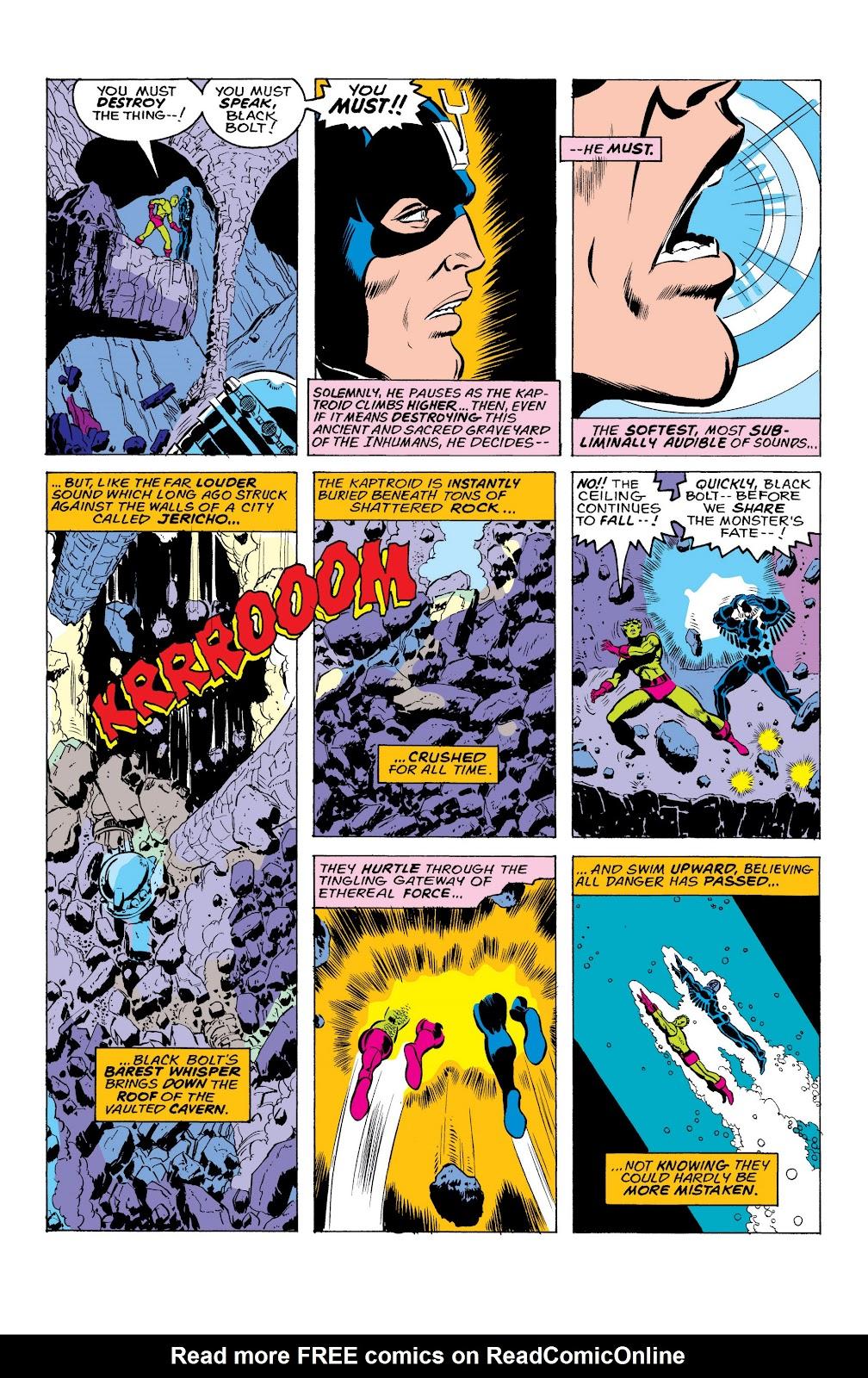 Read online Marvel Masterworks: The Inhumans comic -  Issue # TPB 2 (Part 1) - 38