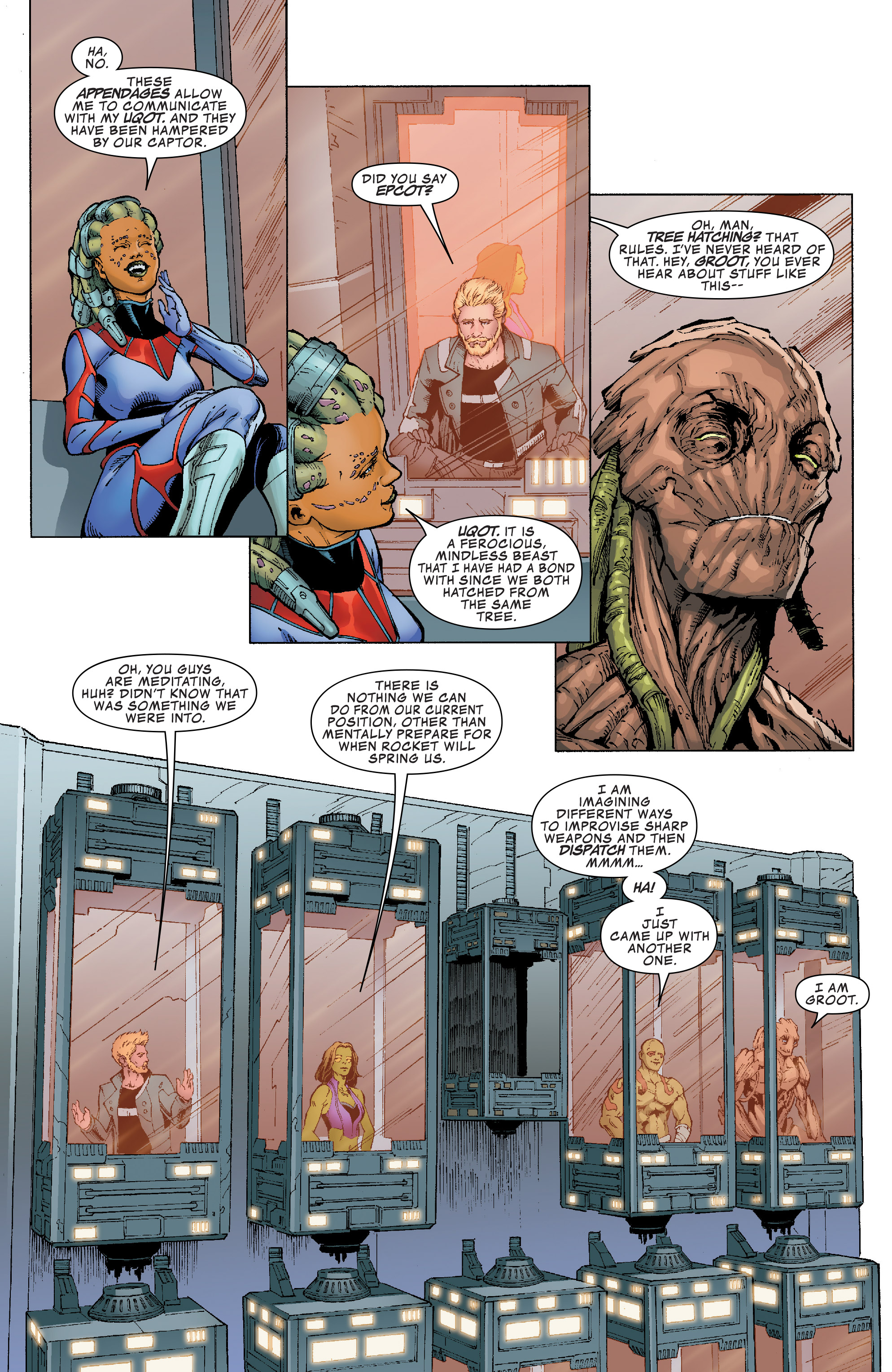 Read online Guardians of the Galaxy: Mission Breakout comic -  Issue # Full - 13