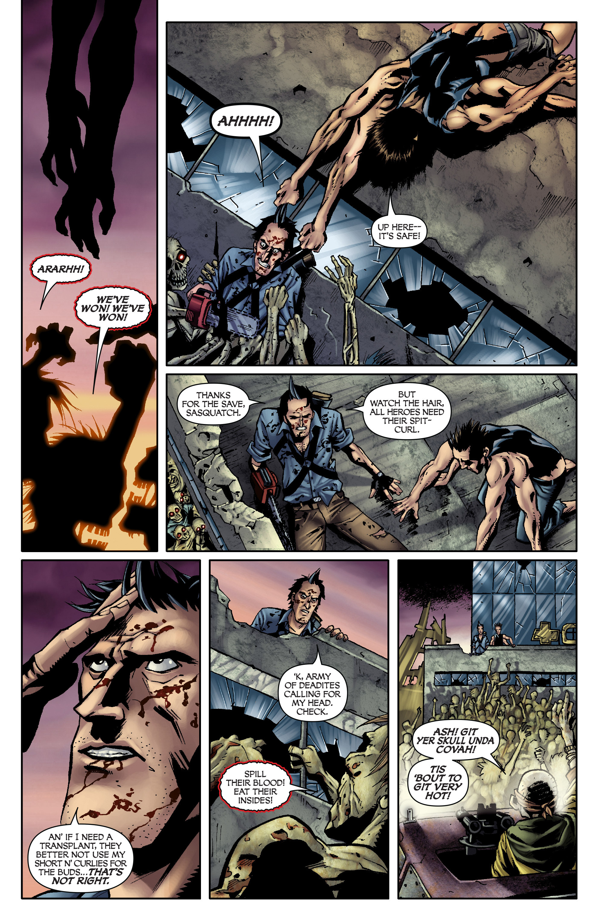 Read online Army of Darkness: From the Ashes comic -  Issue #Army of Darkness: From the Ashes TPB - 58