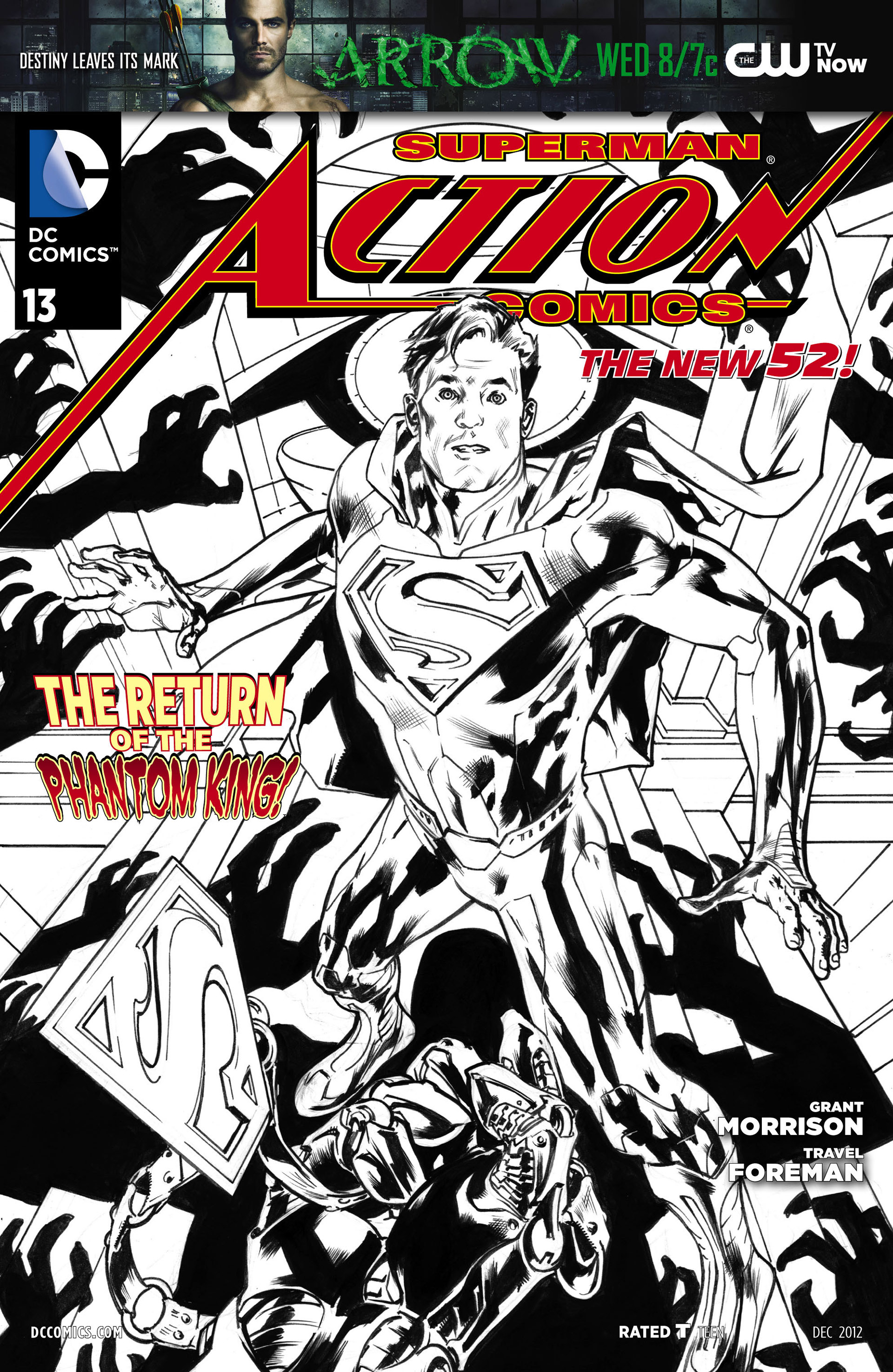 Read online Action Comics (2011) comic -  Issue #13 - 32