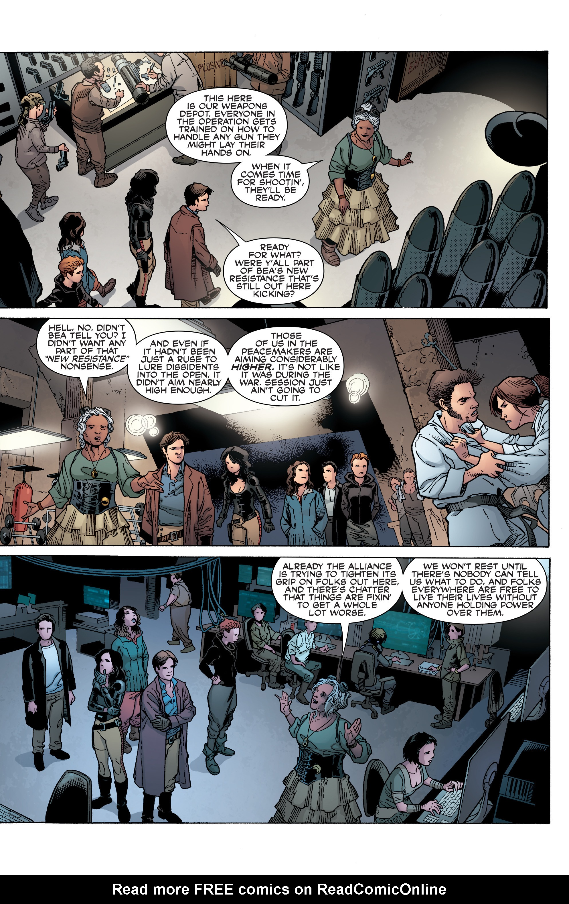 Read online Serenity: Firefly Class 03-K64 – No Power in the 'Verse comic -  Issue #2 - 8