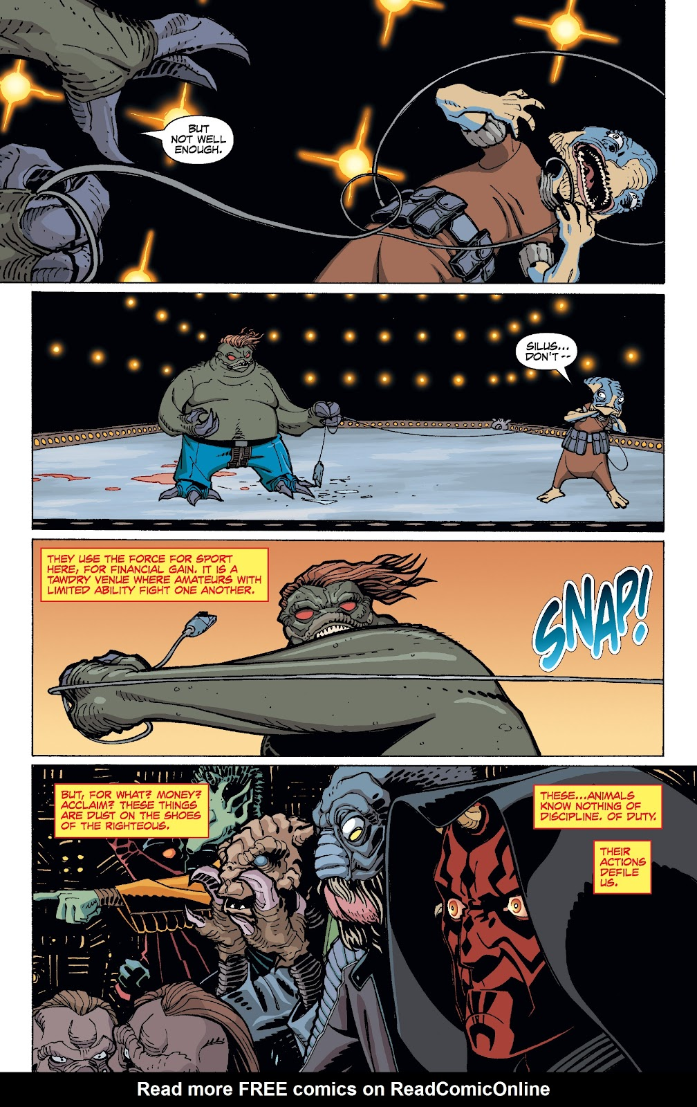 Read online Star Wars Legends: Rise of the Sith - Epic Collection comic -  Issue # TPB 1 (Part 4) - 60