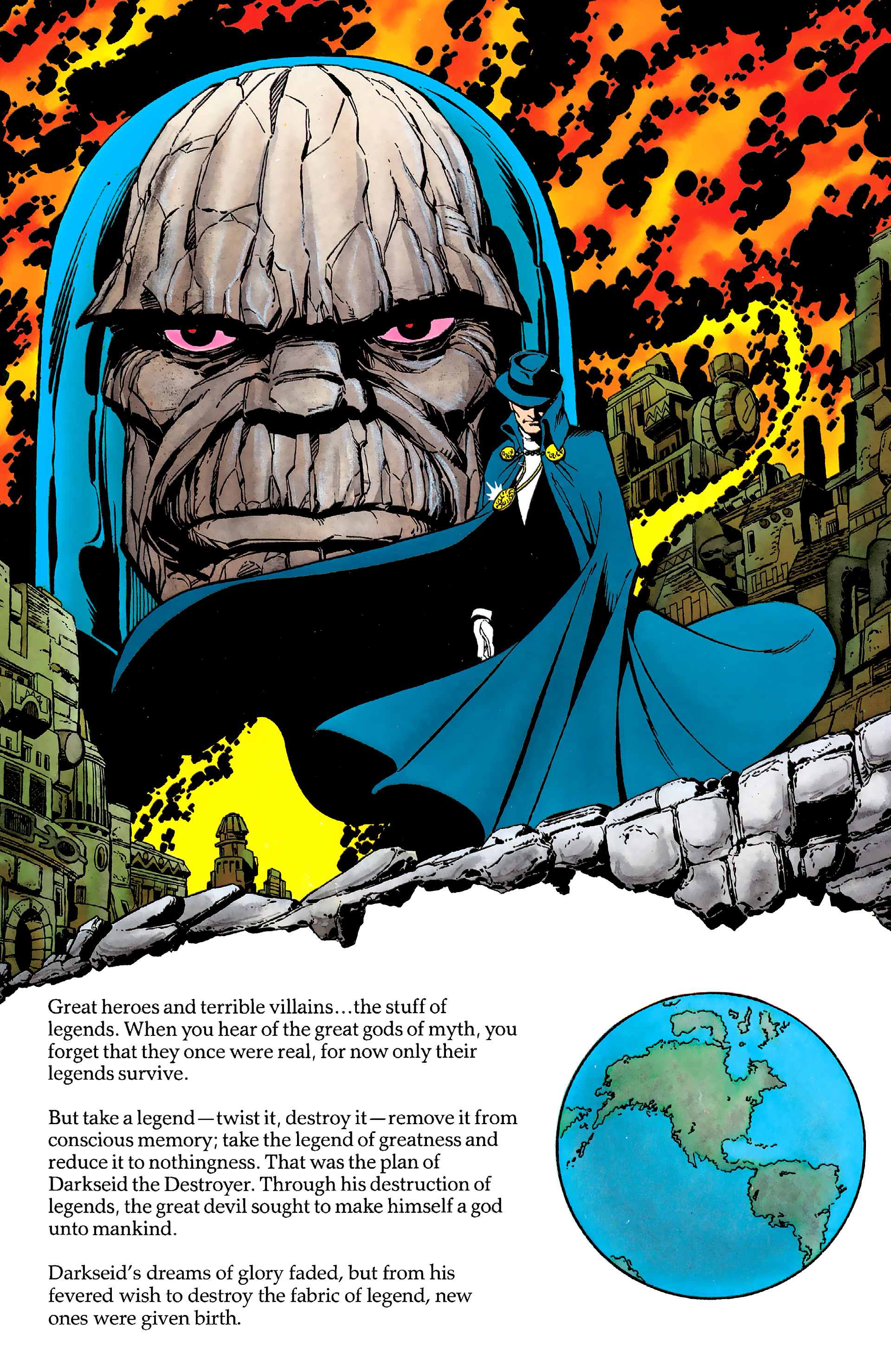 Read online History of the DC Universe comic -  Issue #2 - 40