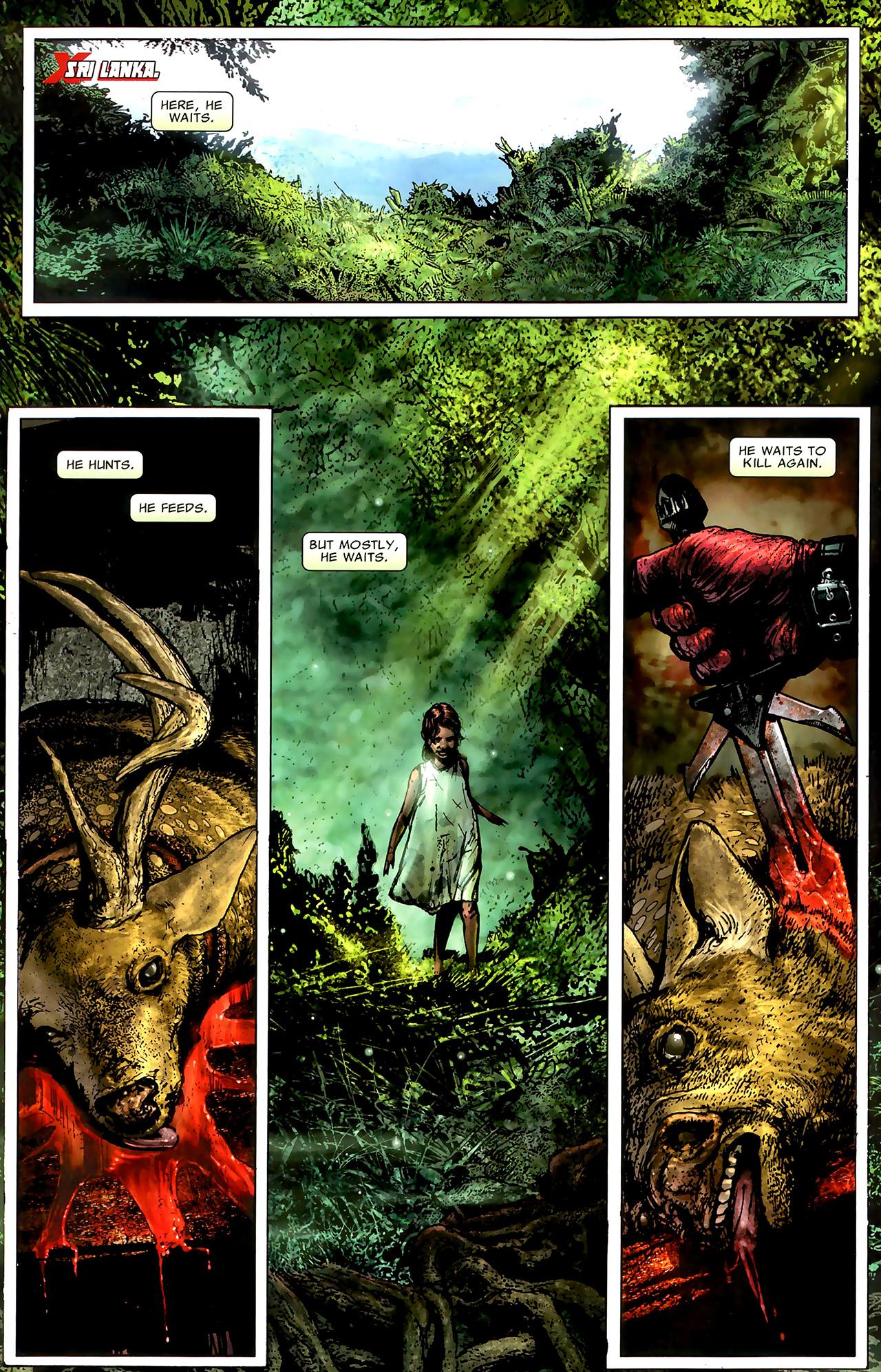 Read online X Necrosha: The Gathering comic -  Issue # Full - 20