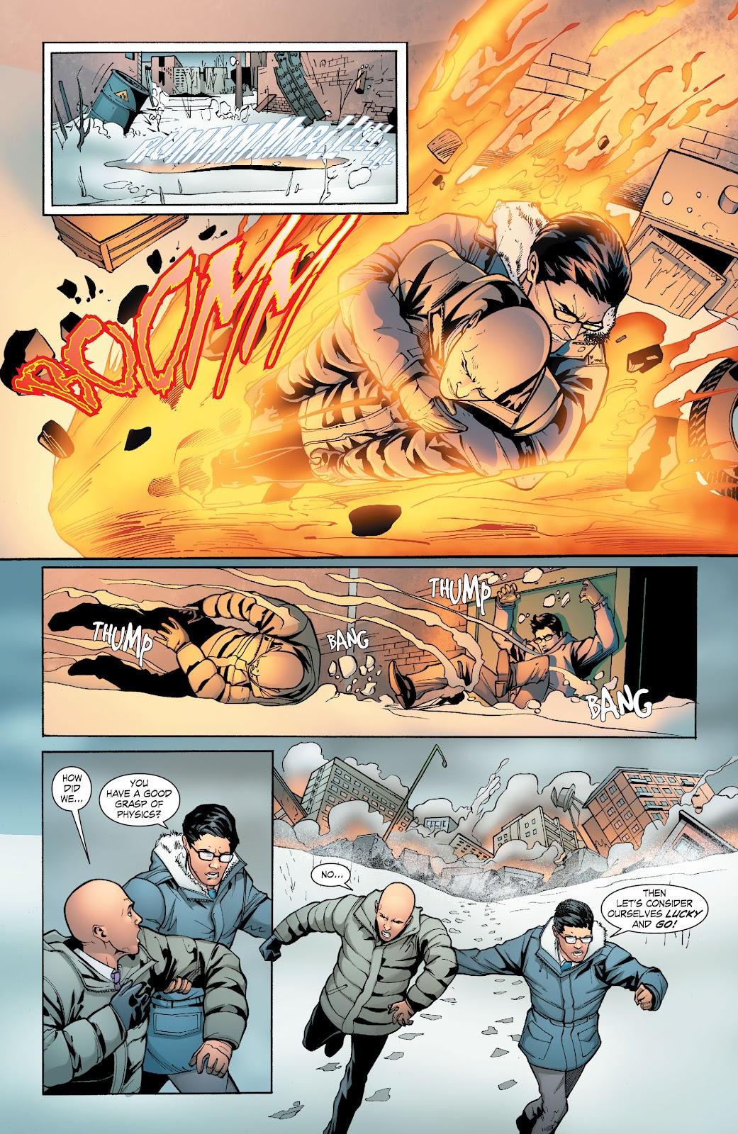 Read online Smallville Season 11 [II] comic -  Issue # TPB 6 - 140