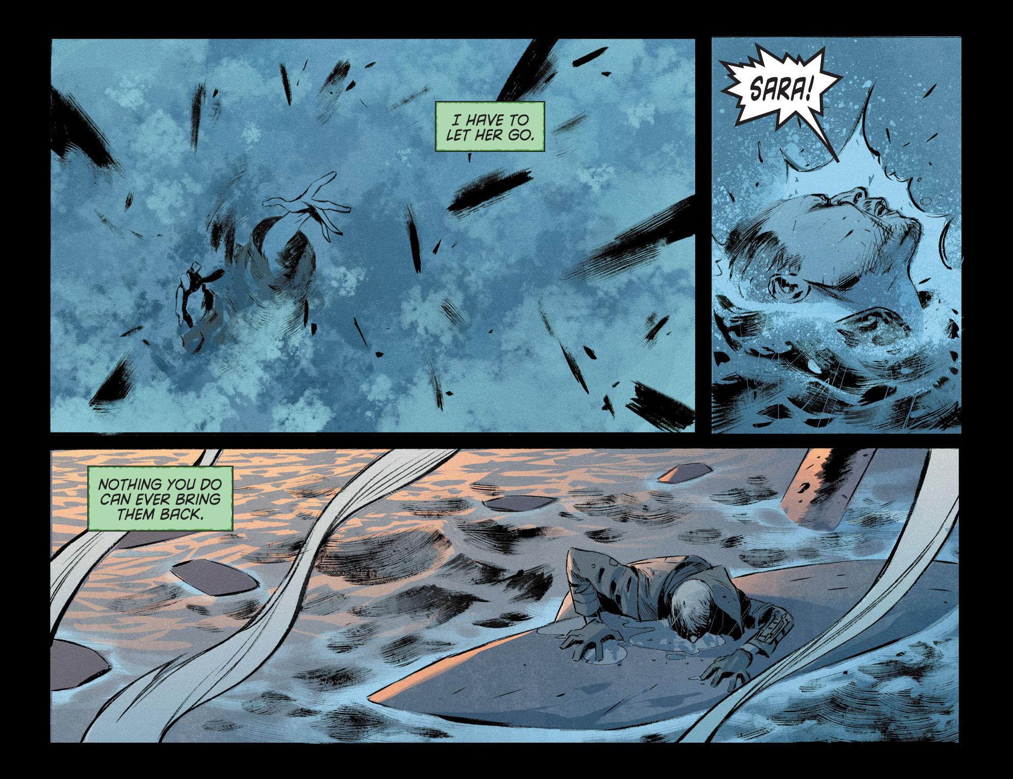 Read online Arrow [II] comic -  Issue #12 - 21