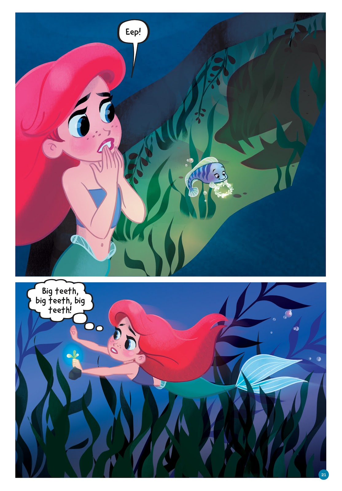 Read online Disney Princess: Ariel and the Sea Wolf comic -  Issue # Full - 19