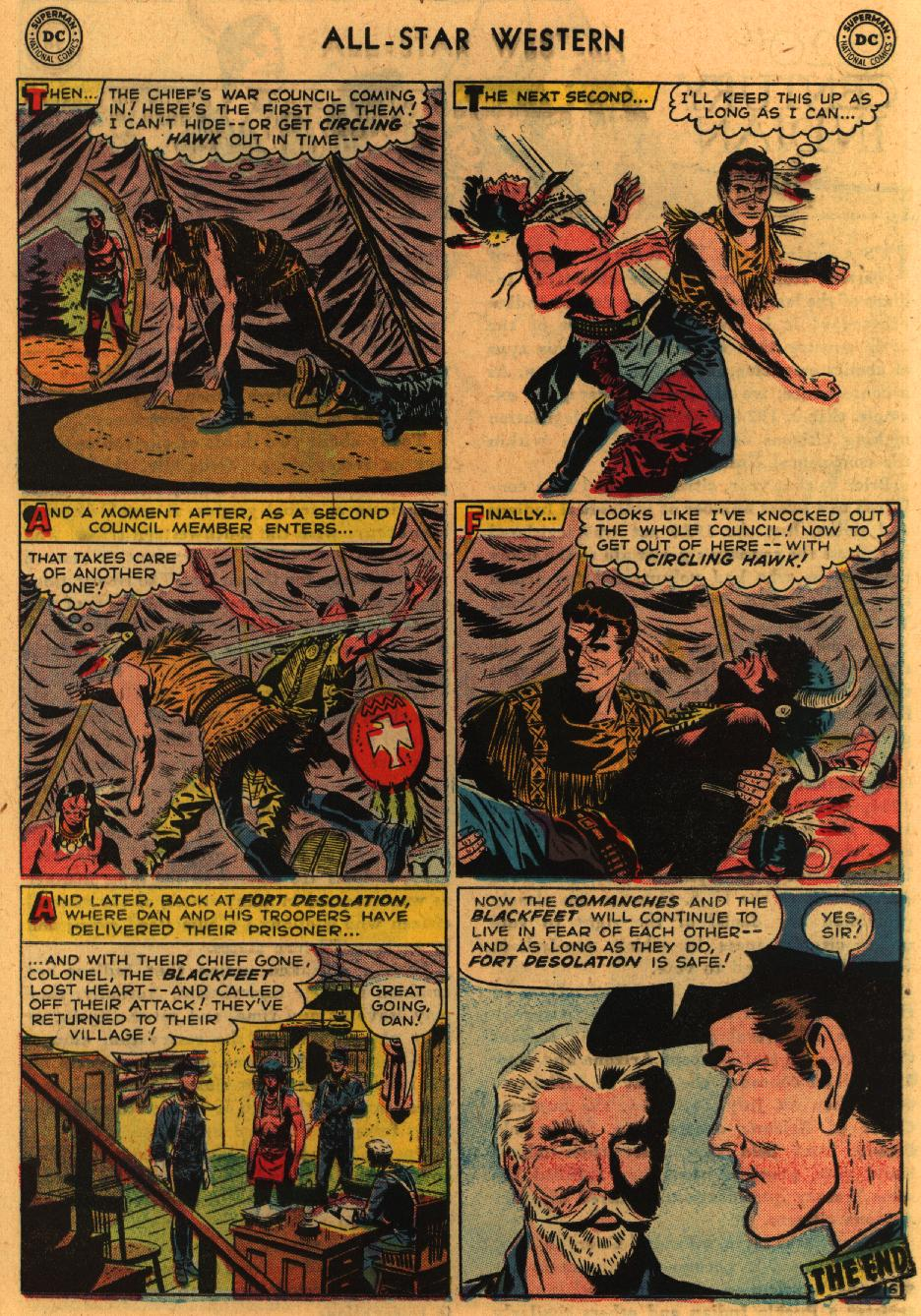 Read online All-Star Western (1951) comic -  Issue #98 - 26