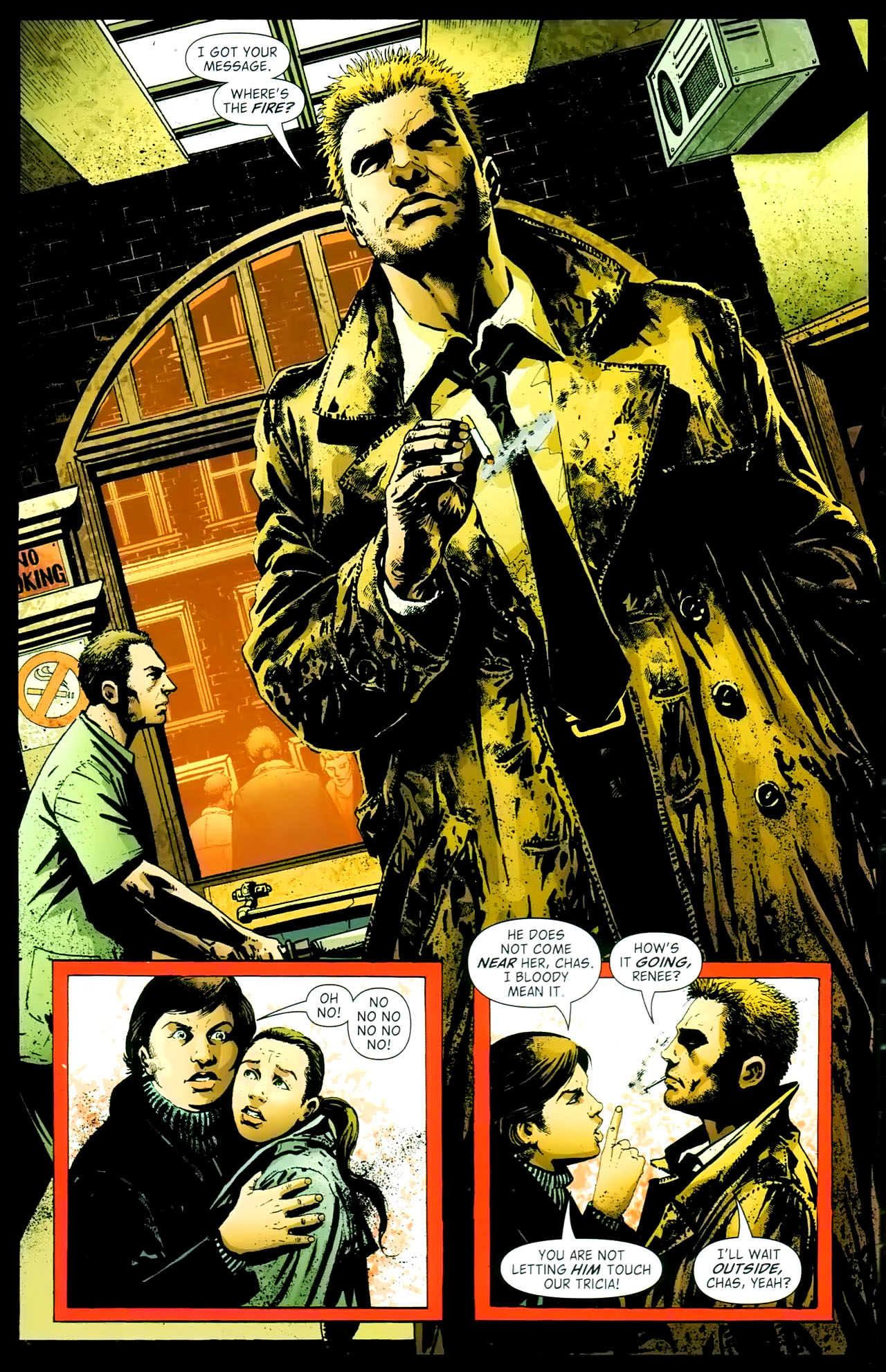 Read online John Constantine Hellblazer: All His Engines comic -  Issue # Full - 18
