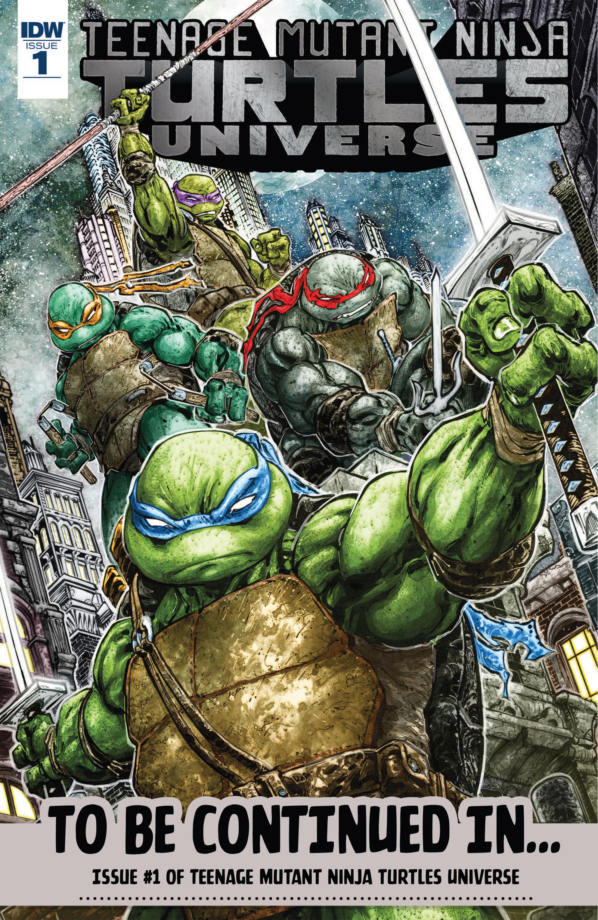 Read online Teenage Mutant Ninja Turtles (2011) comic -  Issue #69 - 33