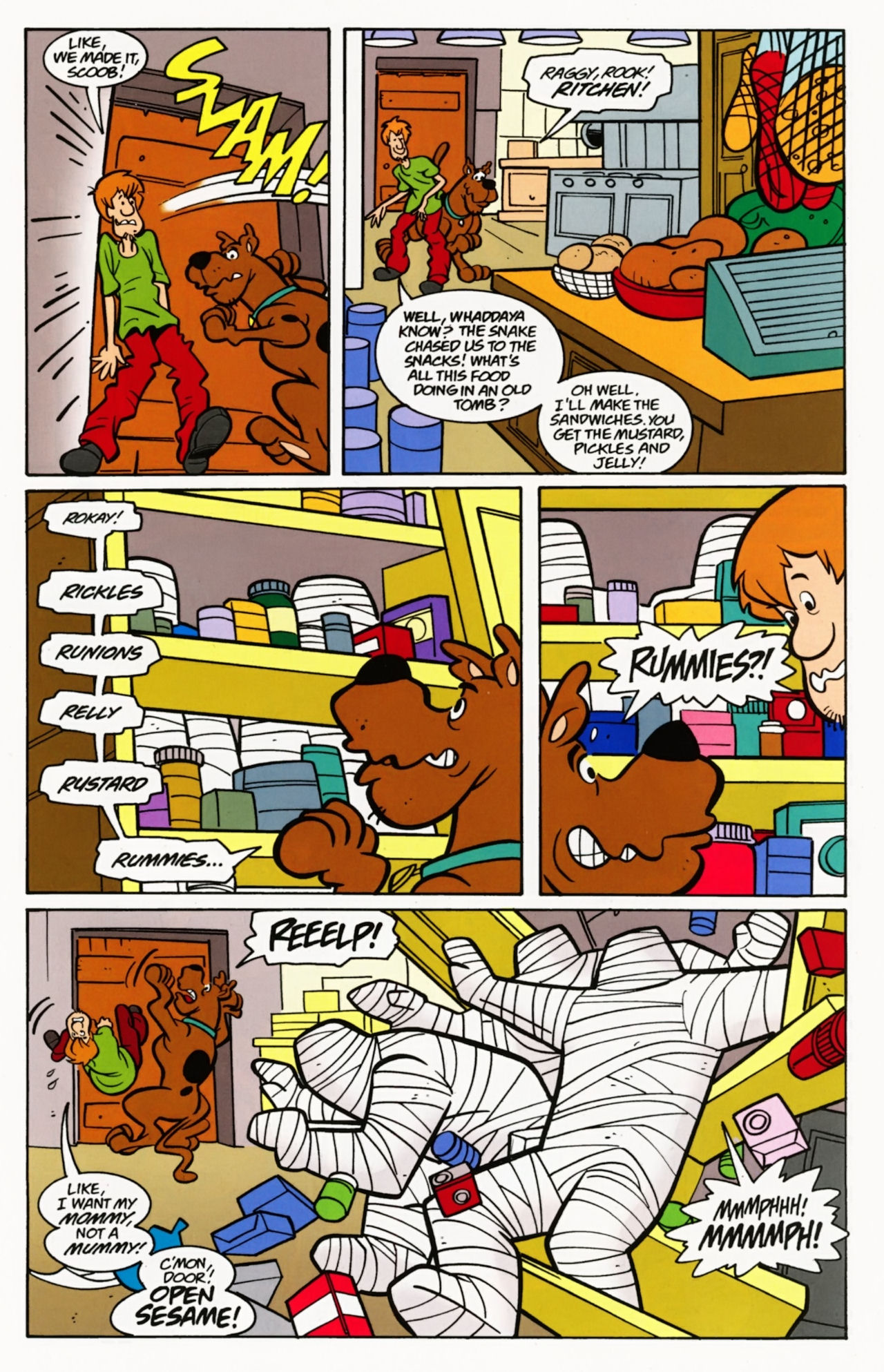 Read online Scooby-Doo: Where Are You? comic -  Issue #7 - 27