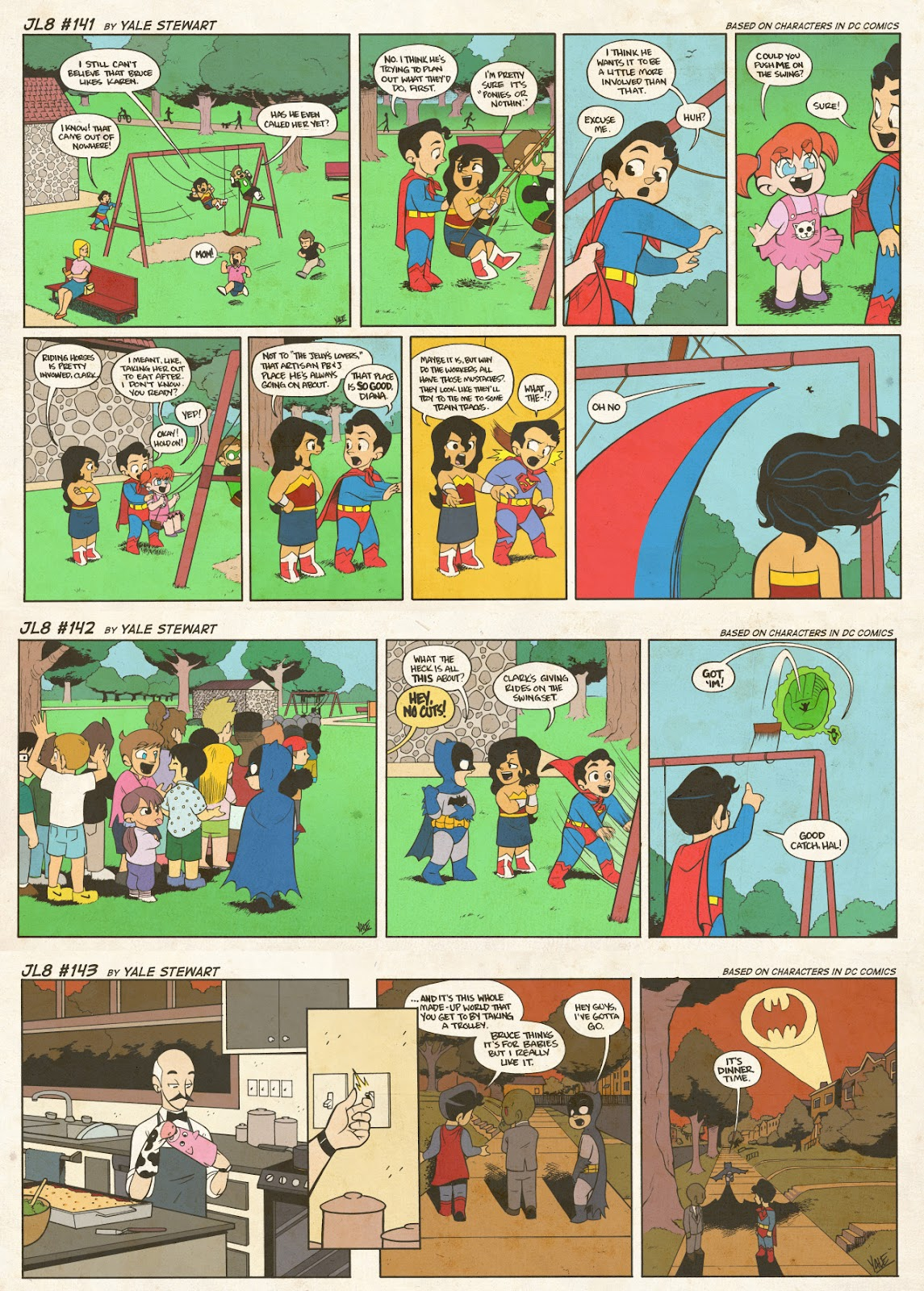 Read online JL8 – The Complete Collection comic -  Issue # TPB (Part 1) - 77