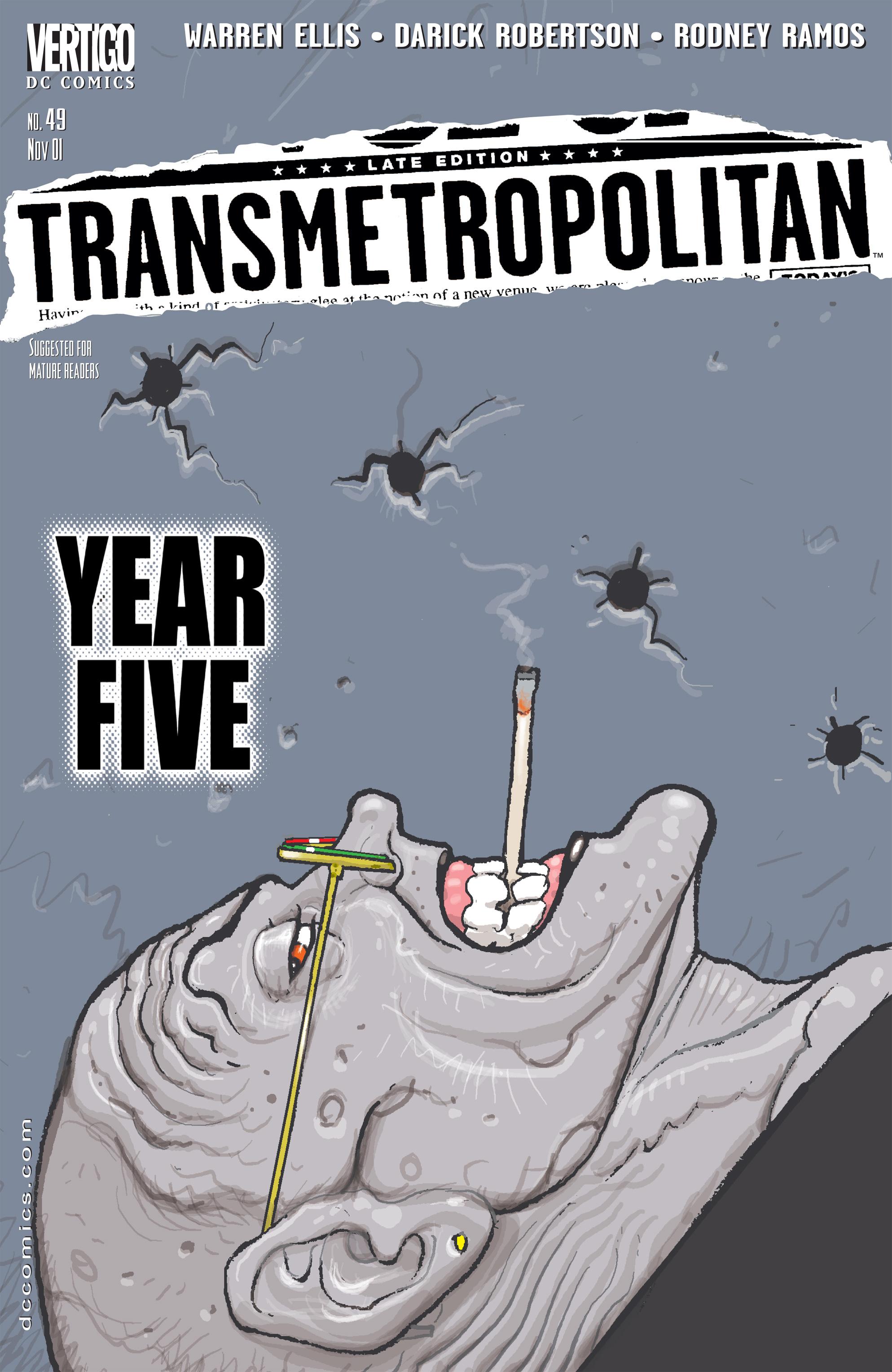 Read online Transmetropolitan comic -  Issue #49 - 1