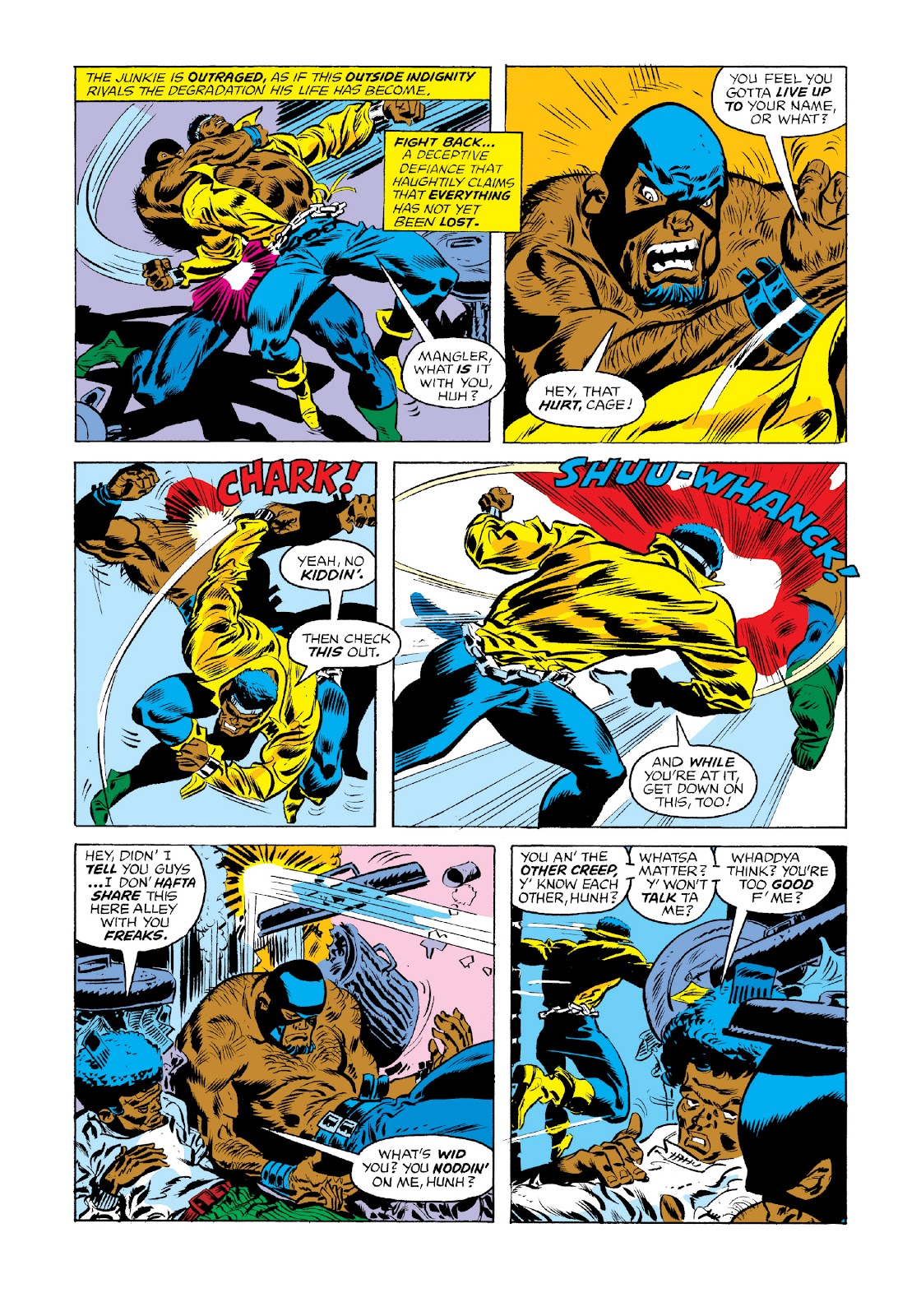 Read online Marvel Masterworks: Luke Cage, Power Man comic -  Issue # TPB 3 (Part 1) - 57