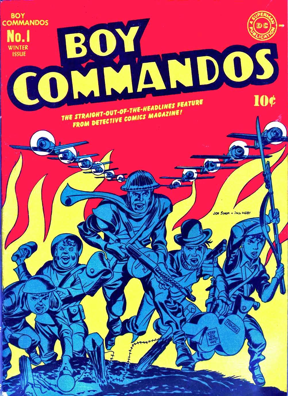 Boy Commandos issue 1 - Page 1