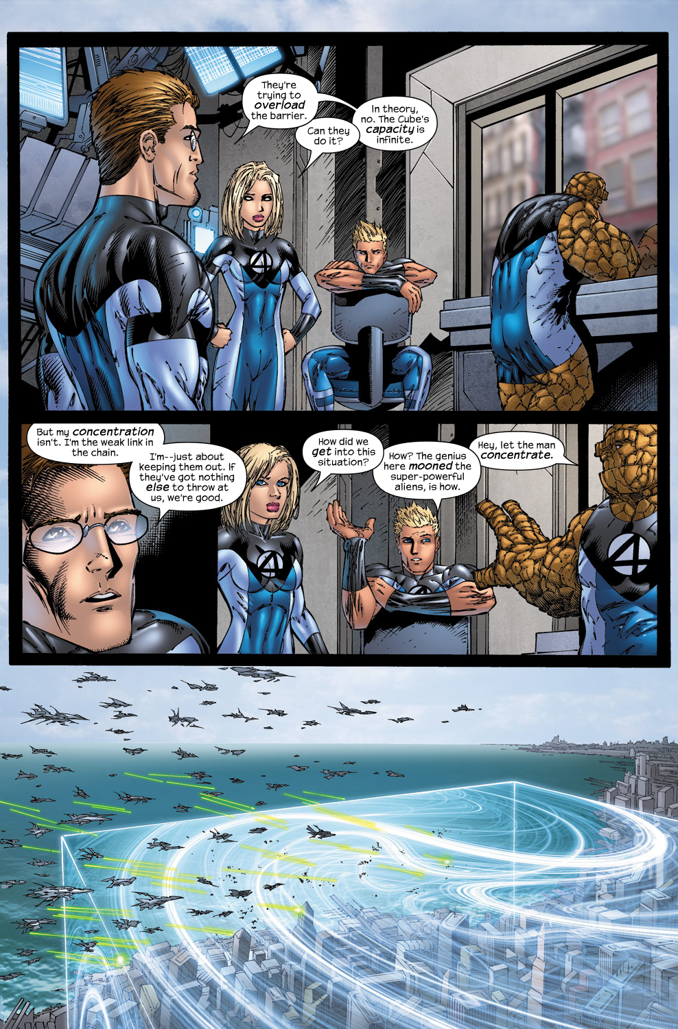 Read online Ultimate Fantastic Four (2004) comic -  Issue #50 - 22